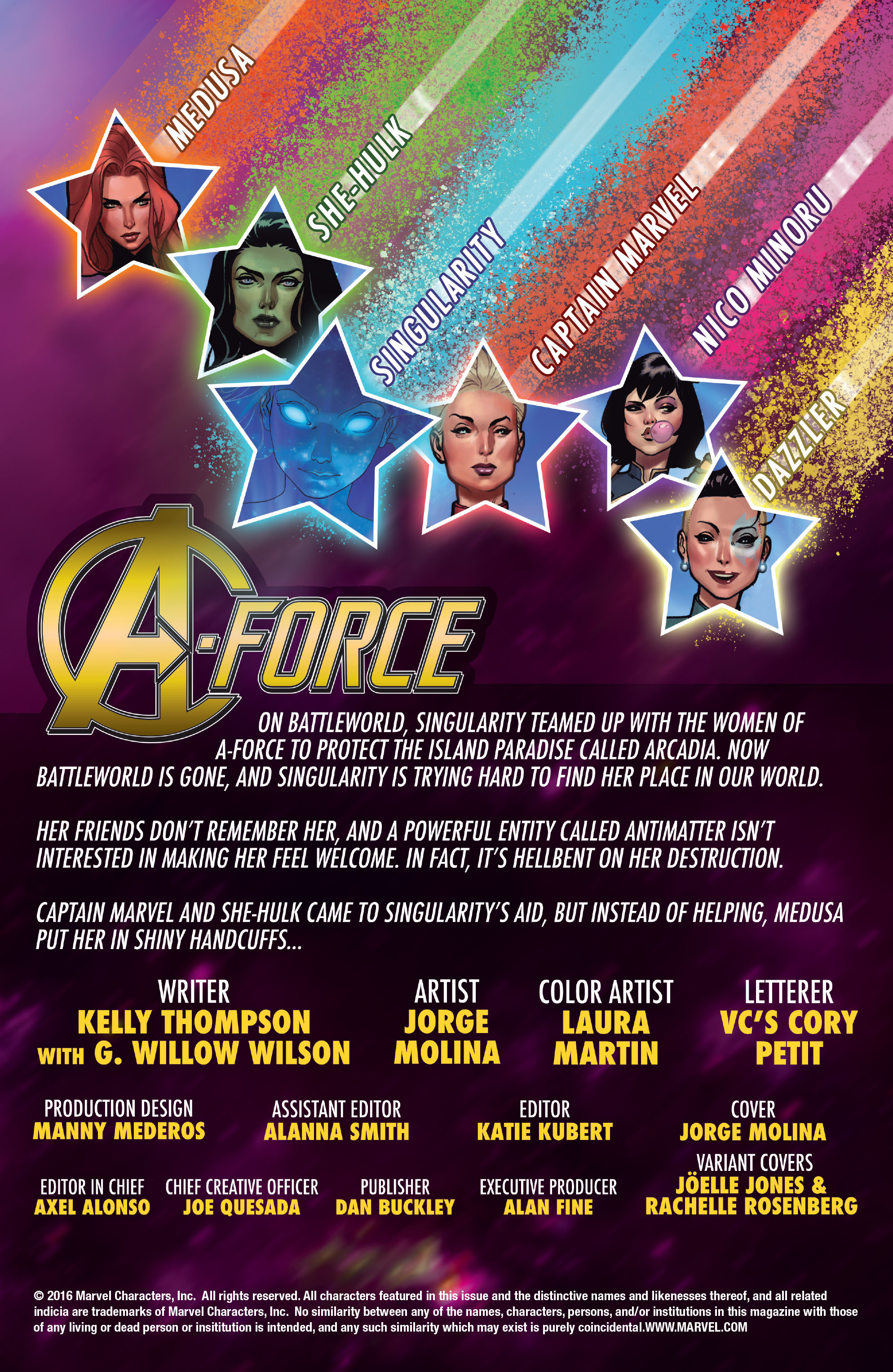 Read online A-Force (2016) comic -  Issue #2 - 2