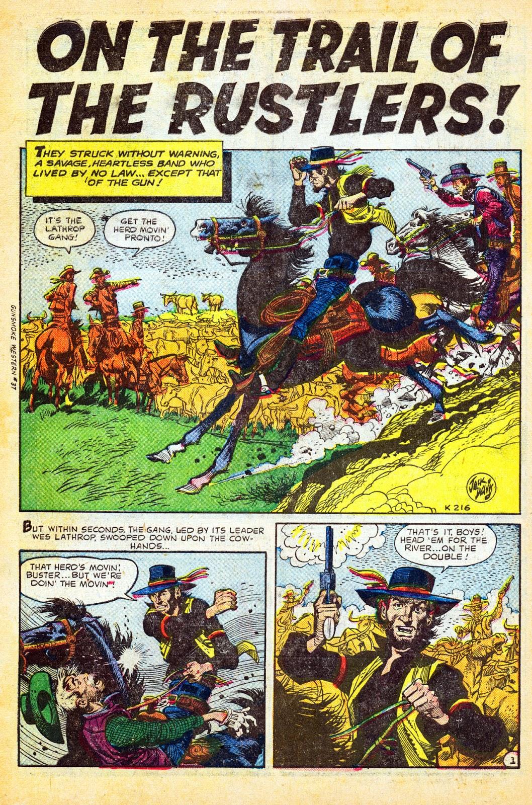 Gunsmoke Western issue 37 - Page 3
