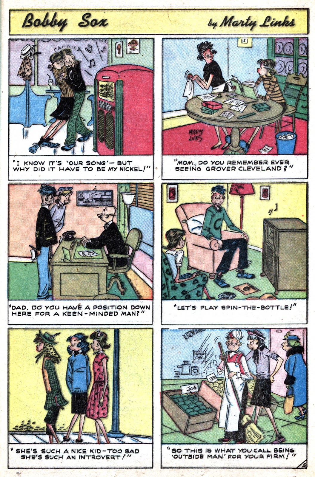 Read online Famous Funnies comic -  Issue #184 - 33