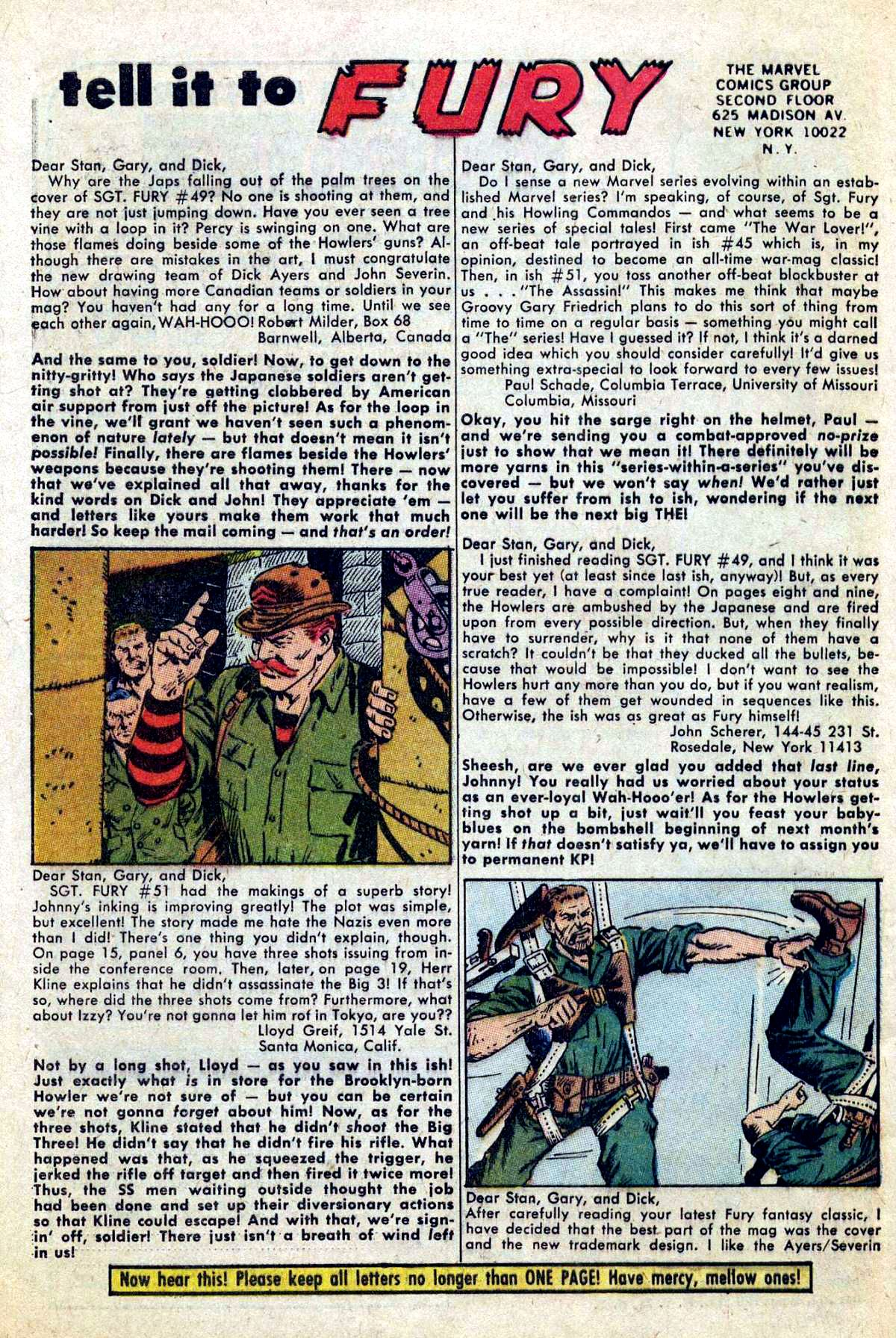 Read online Sgt. Fury comic -  Issue #54 - 32