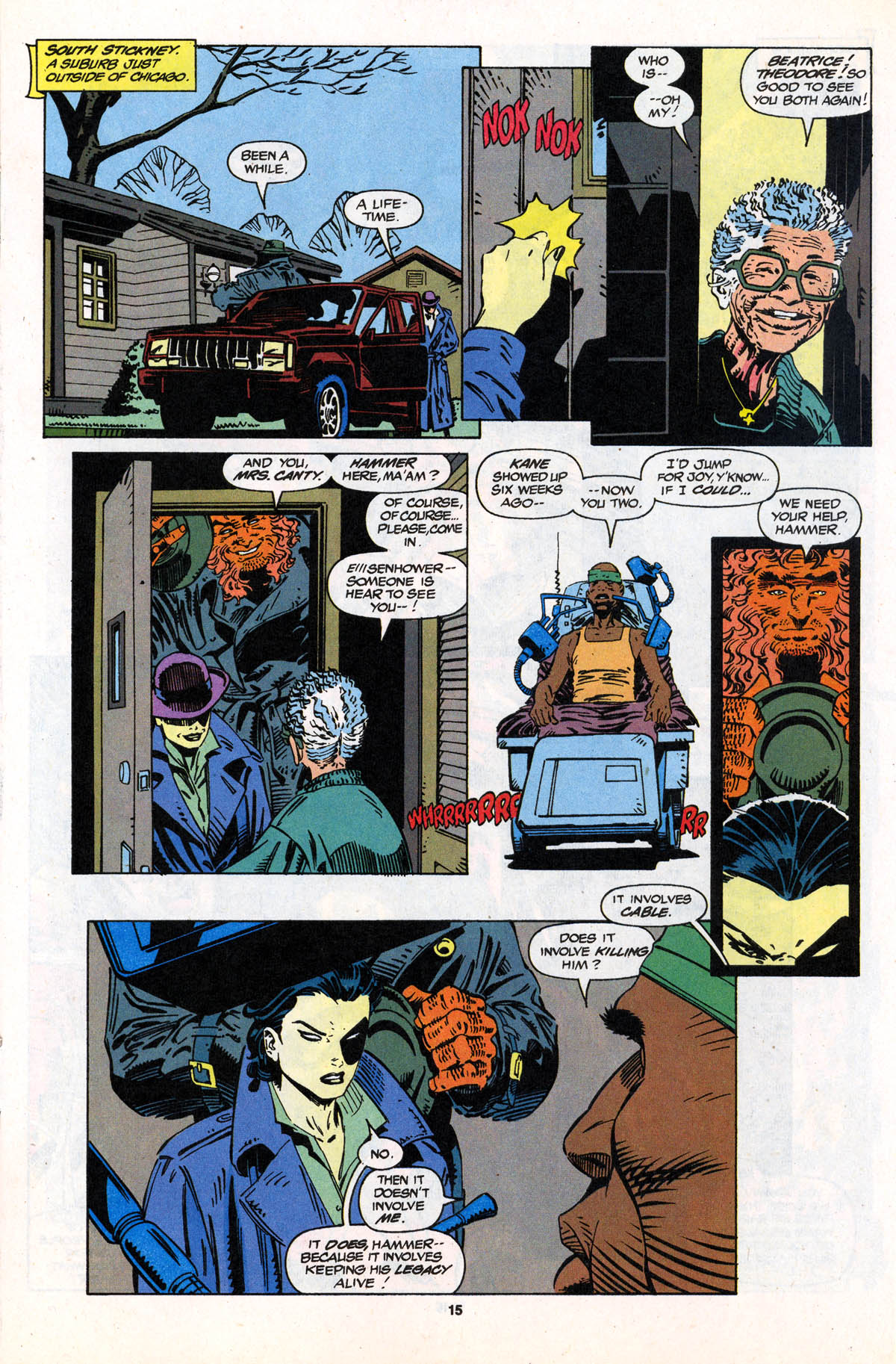 Read online X-Force (1991) comic -  Issue #21 - 16