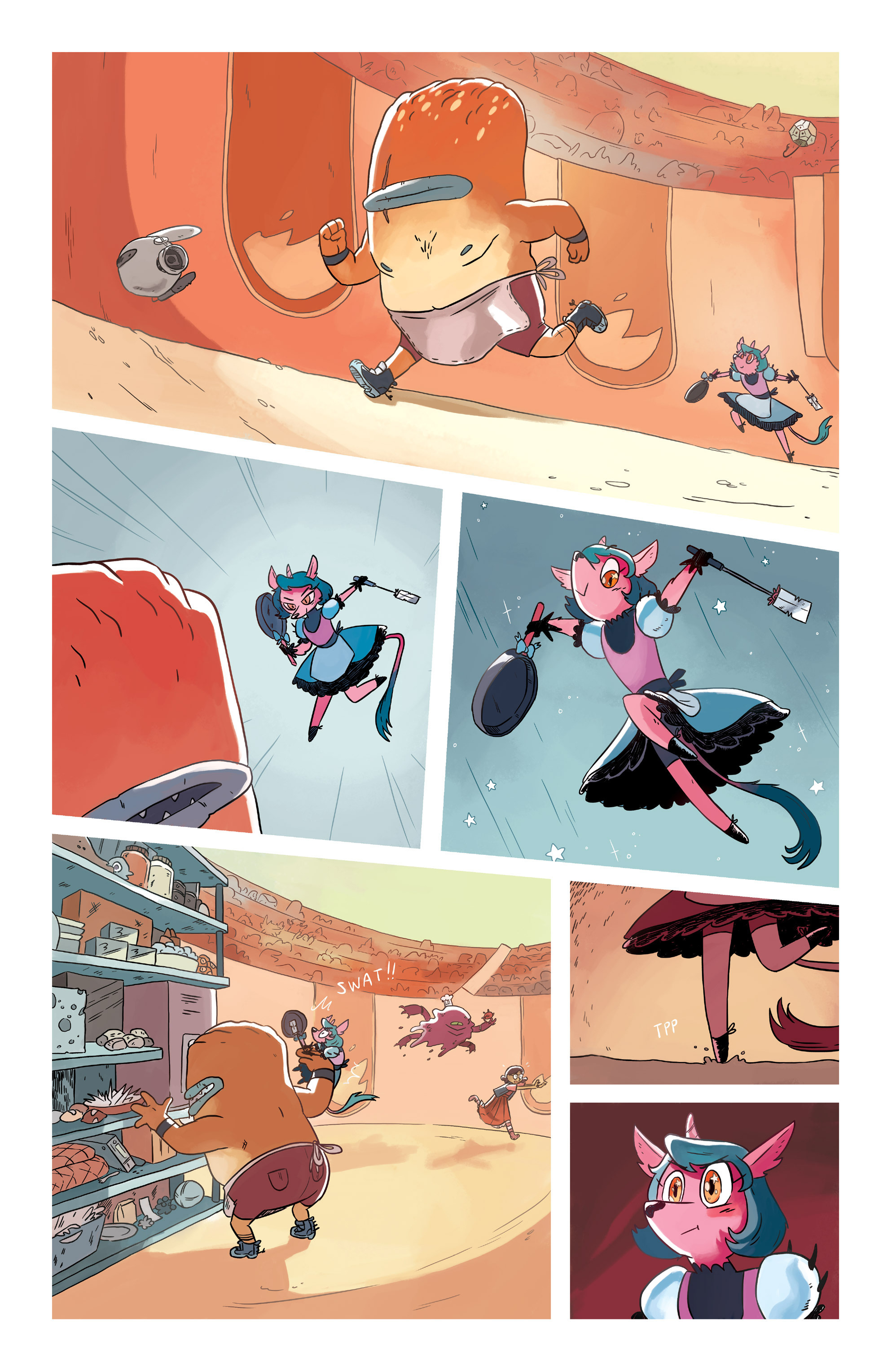 Read online Space Battle Lunchtime comic -  Issue #6 - 9