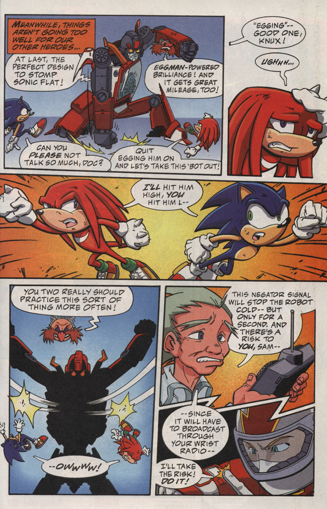 Read online Sonic X comic -  Issue #20 - 31