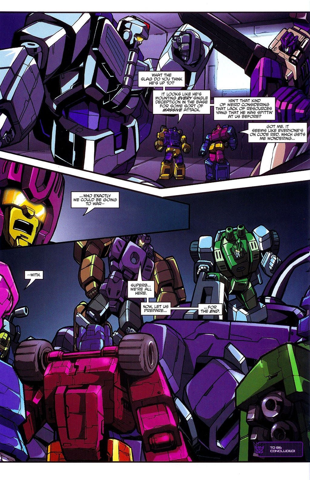 Read online Transformers: Micromasters comic -  Issue #3 - 24
