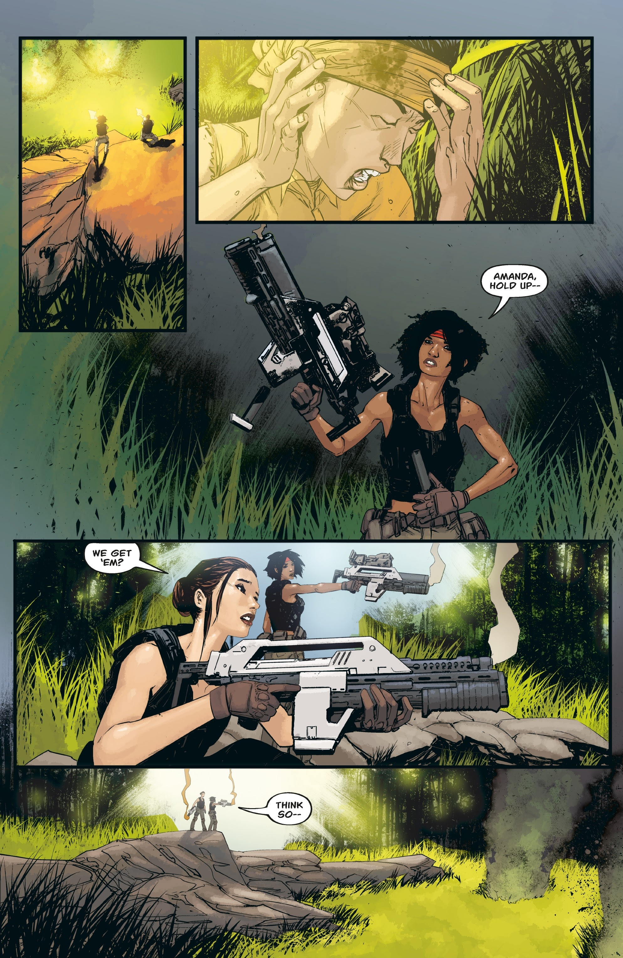 Aliens: Resistance issue 3 - Page 14