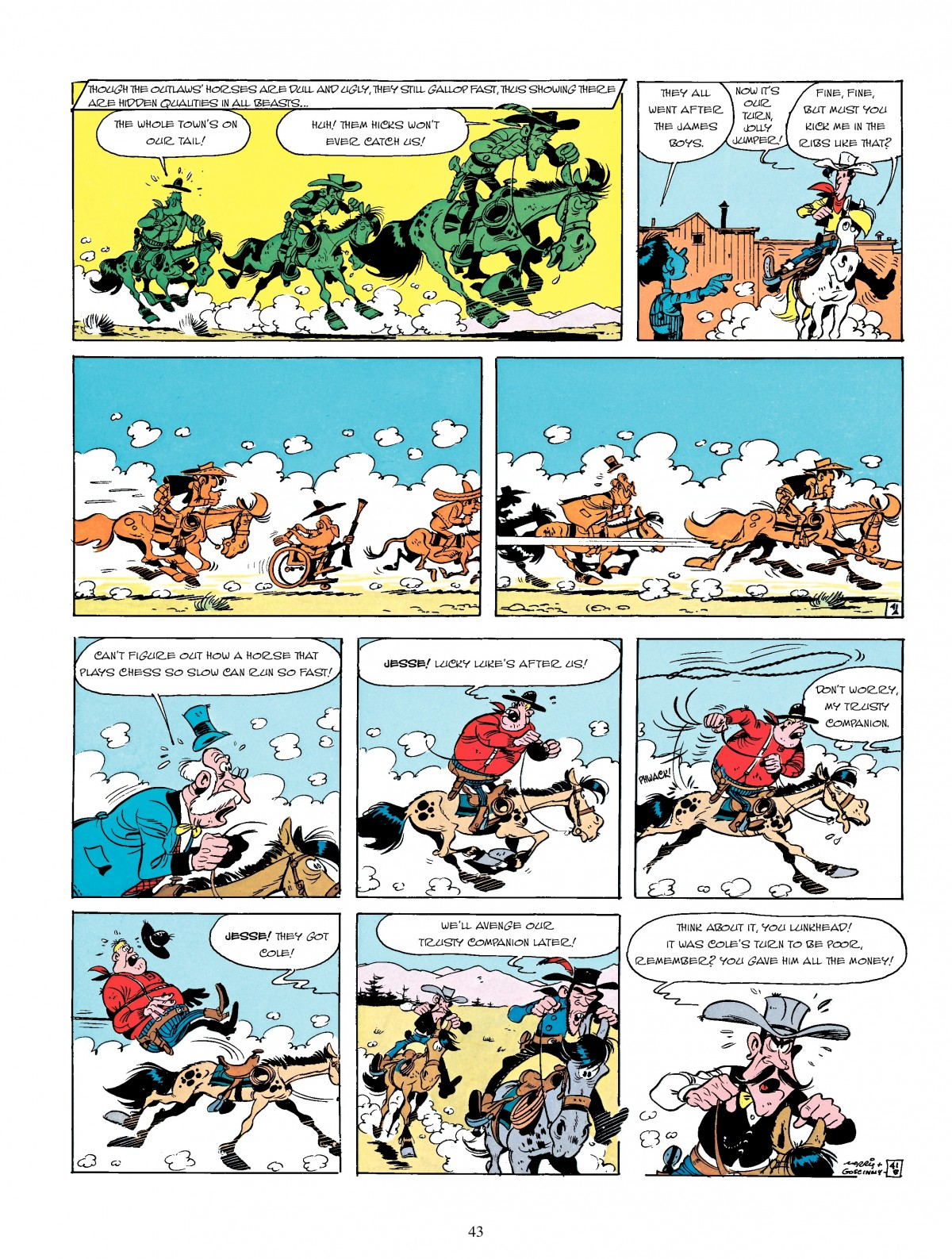 Read online A Lucky Luke Adventure comic -  Issue #4 - 45