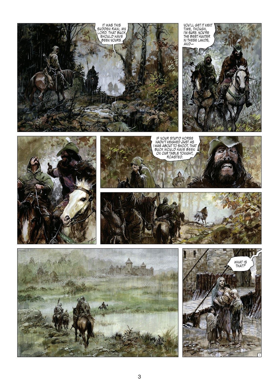 Read online Thorgal comic -  Issue #21 - 5