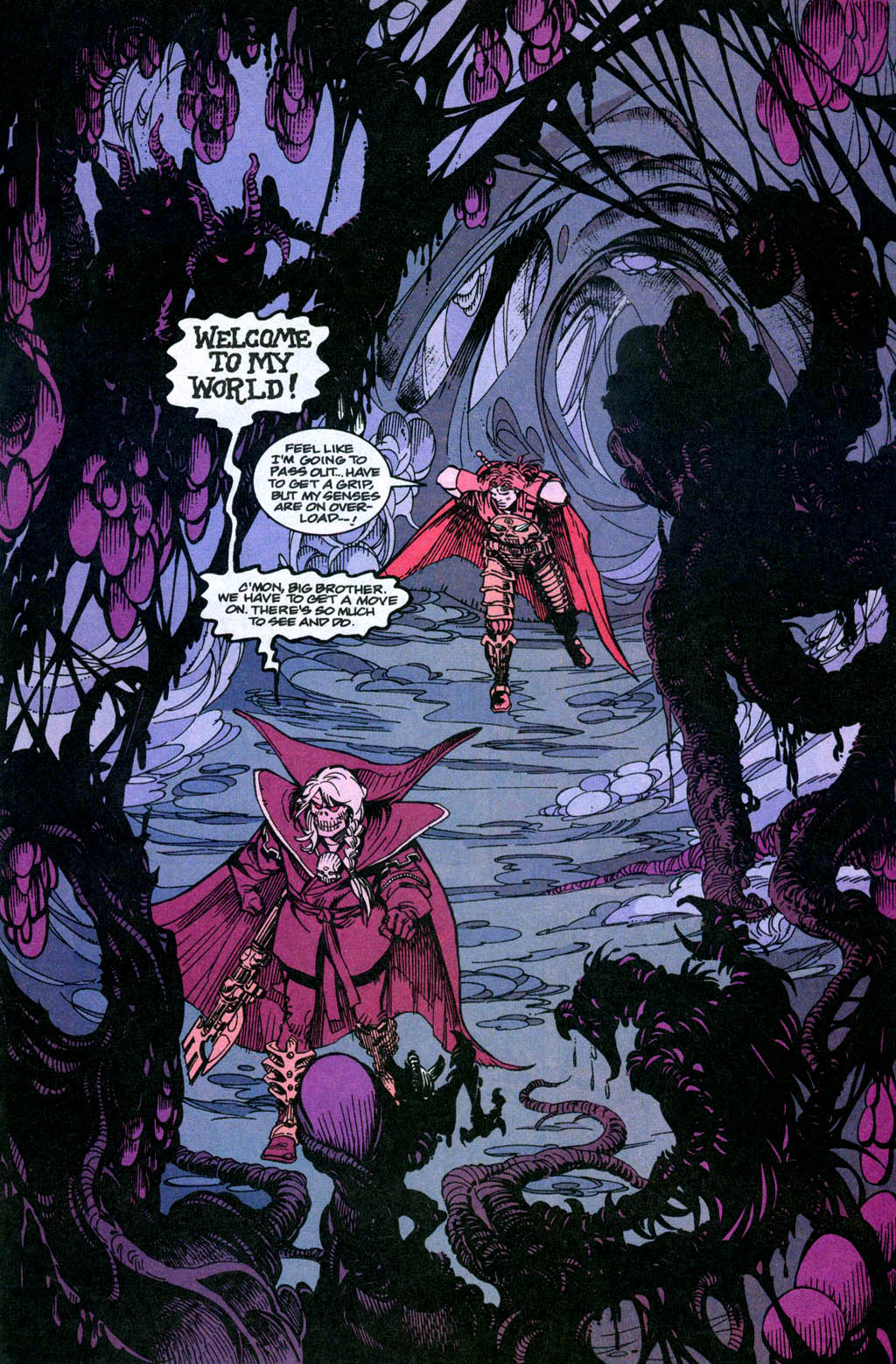 Skeleton Warriors Issue #3 #3 - English 15