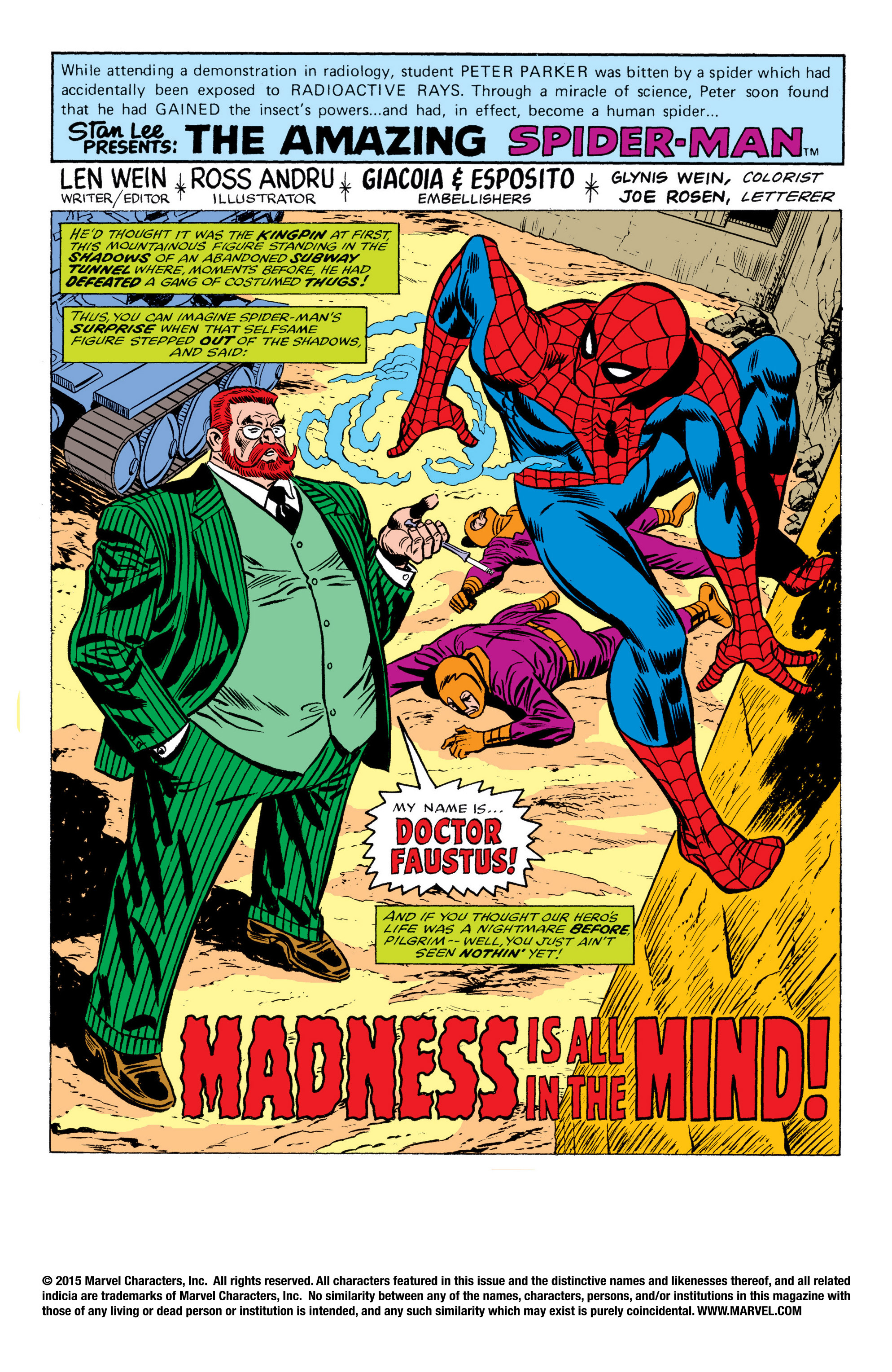 The Amazing Spider-Man (1963) 170 Page 1