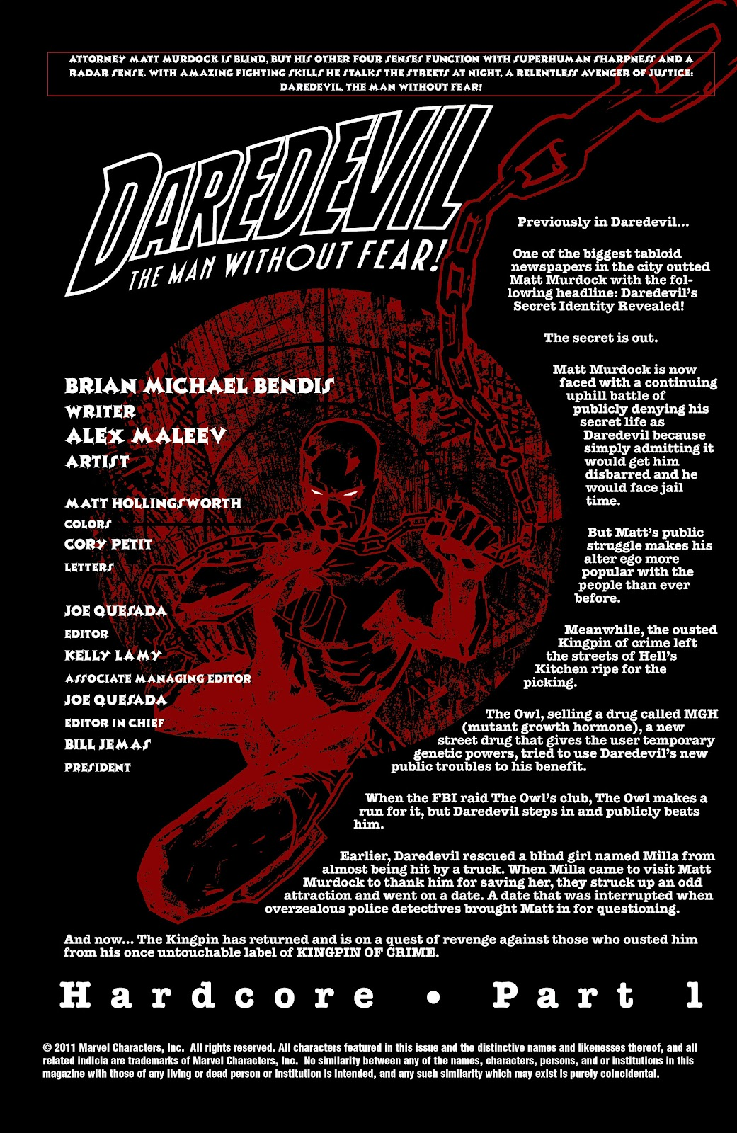 Read online Daredevil (1998) comic -  Issue # _Ultimate_Collection TPB 2 (Part 2) - 13