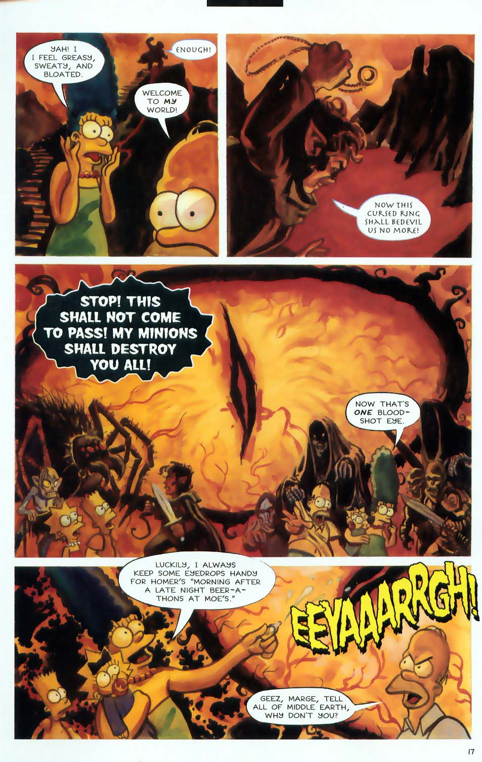 Read online Treehouse of Horror comic -  Issue #9 - 19