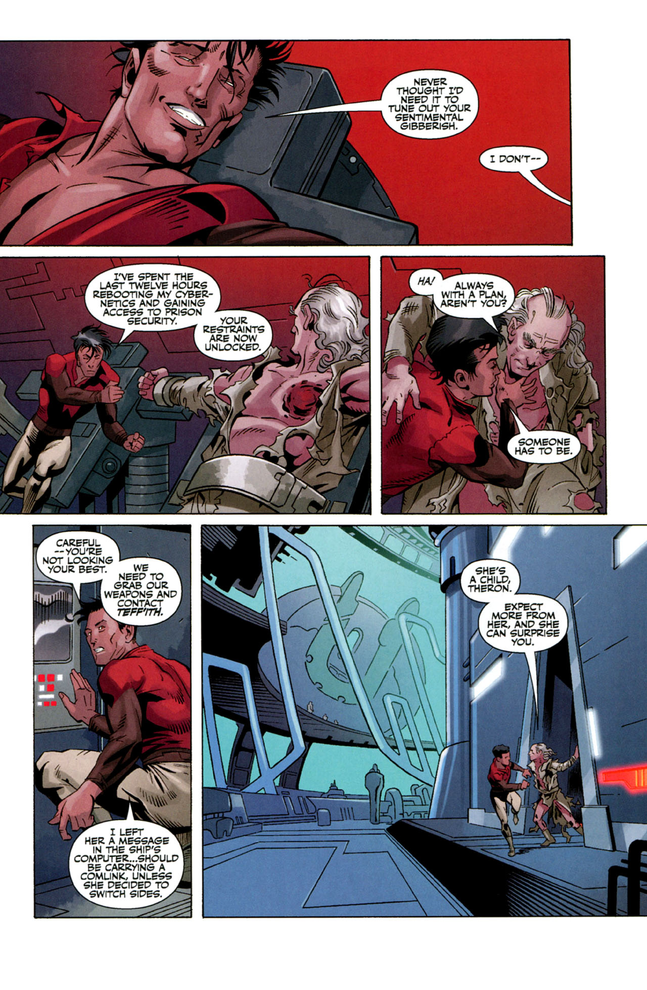 Read online Star Wars: The Old Republic - The Lost Suns comic -  Issue #4 - 21