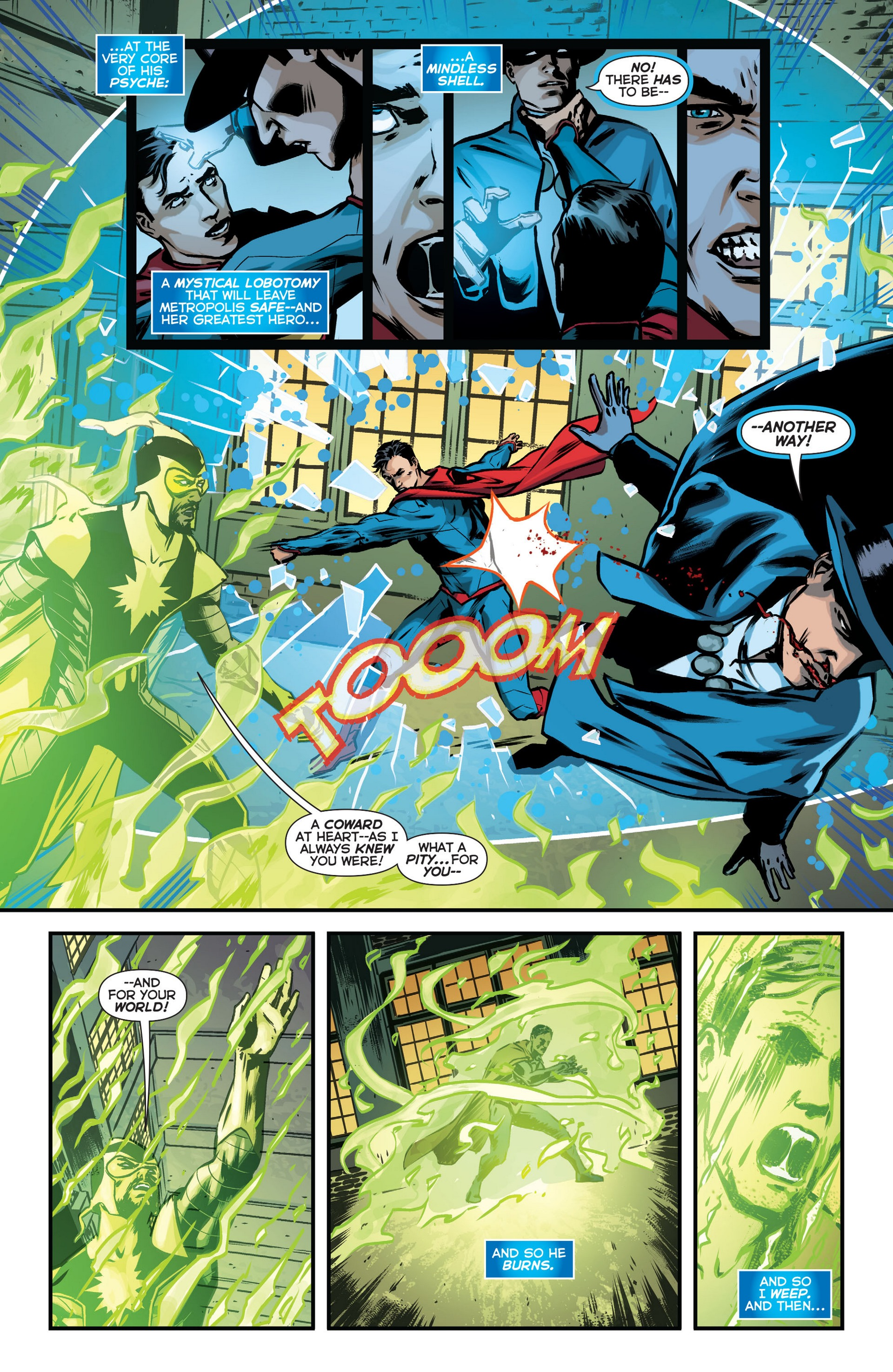 Read online Trinity of Sin: The Phantom Stranger comic -  Issue #18 - 15