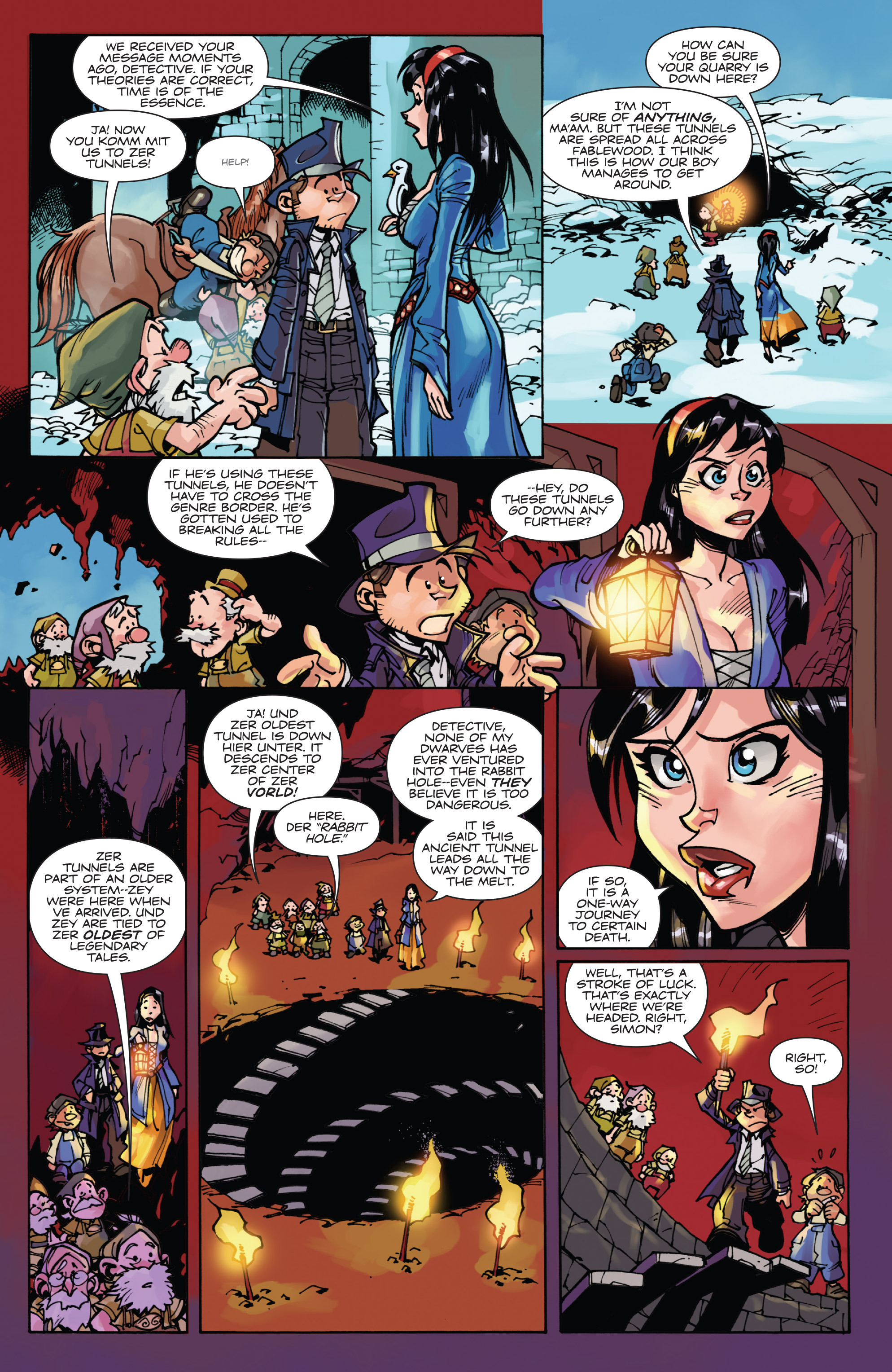 Read online Fiction Squad comic -  Issue #6 - 12