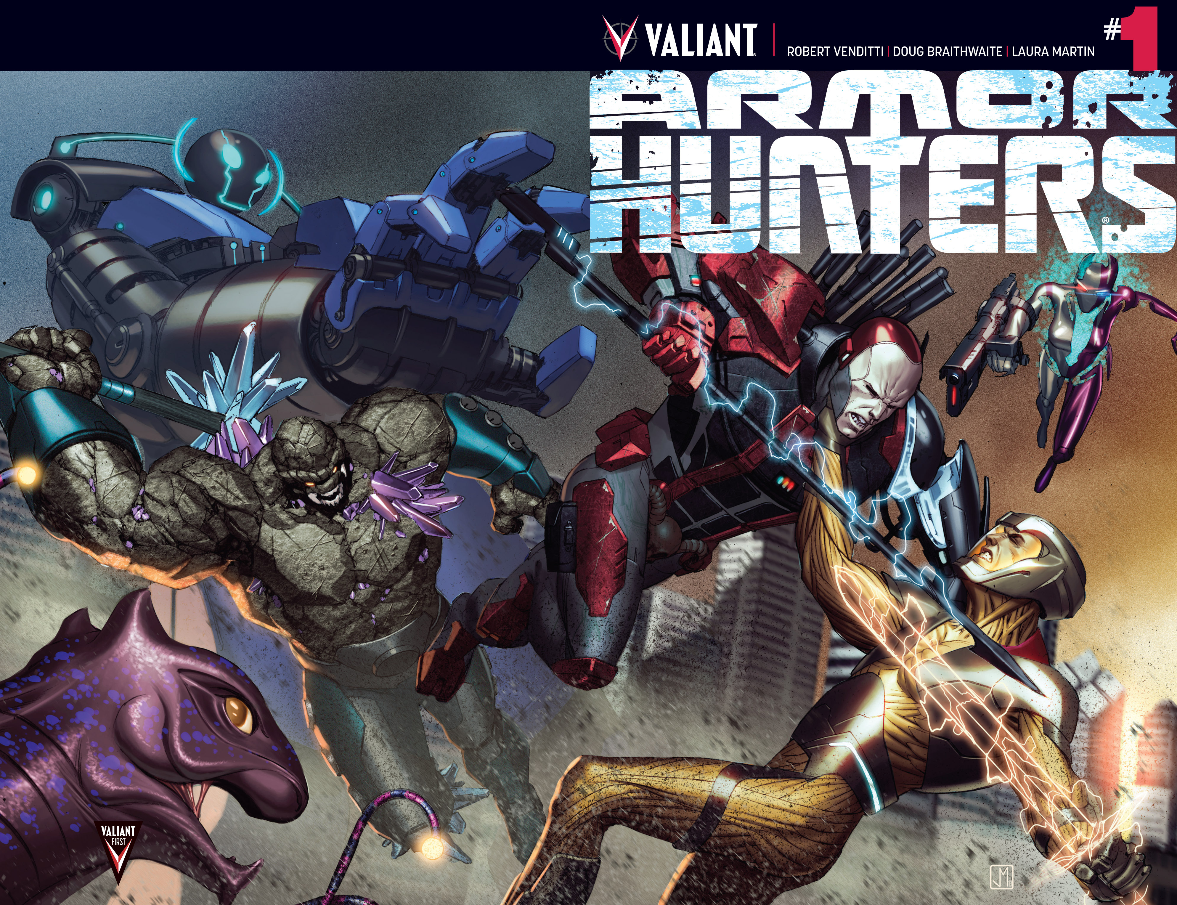 Read online Armor Hunters comic -  Issue #1 - 2