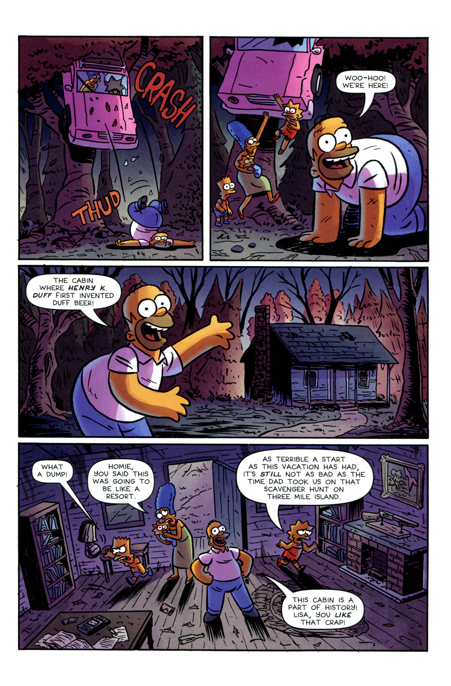 Read online Treehouse of Horror comic -  Issue #18 - 5
