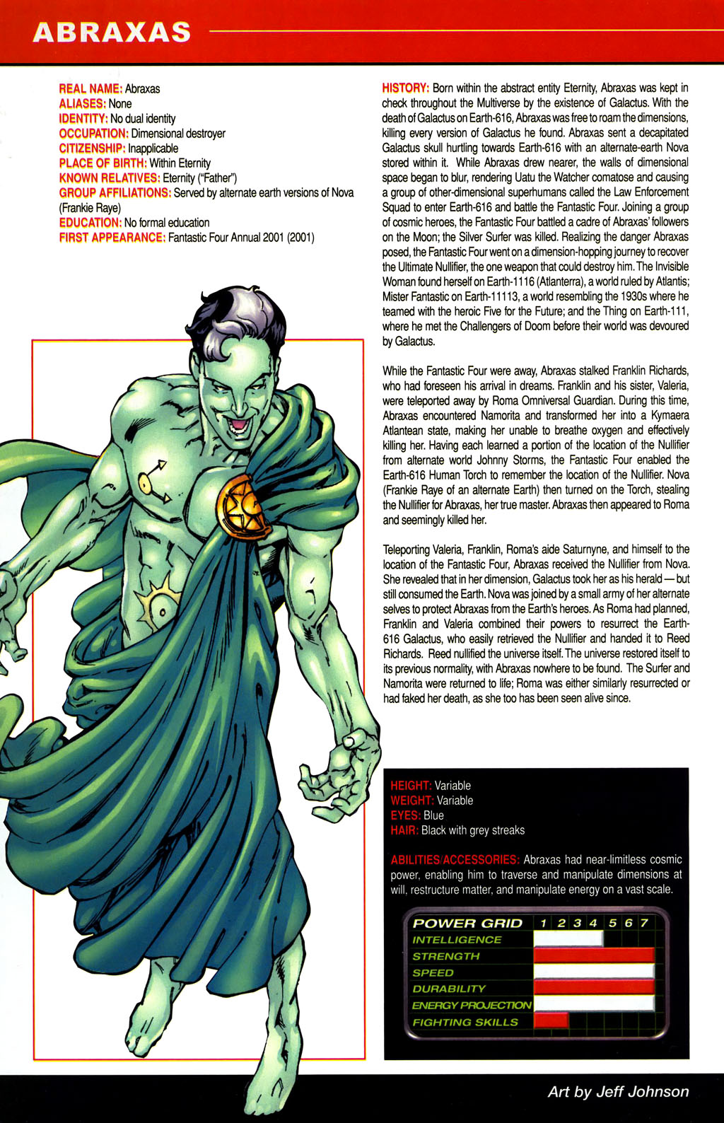 Read online All-New Official Handbook of the Marvel Universe A to Z comic -  Issue #1 - 4