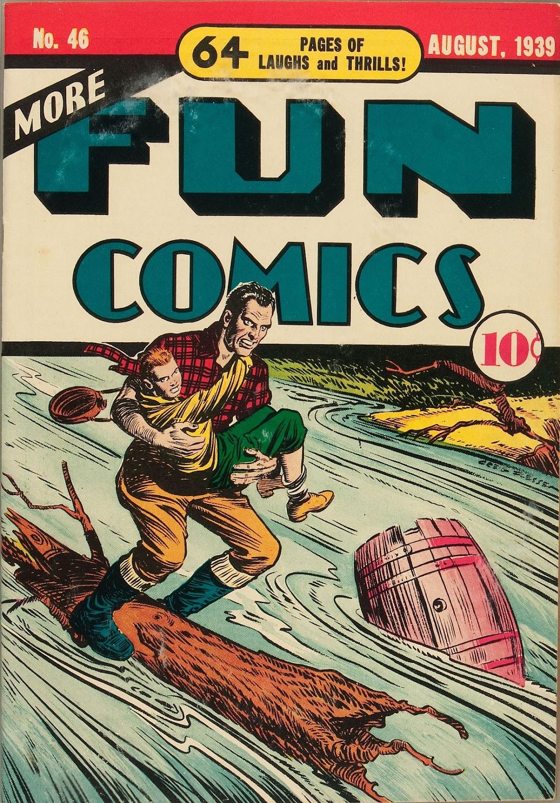 More Fun Comics 43 Page 1