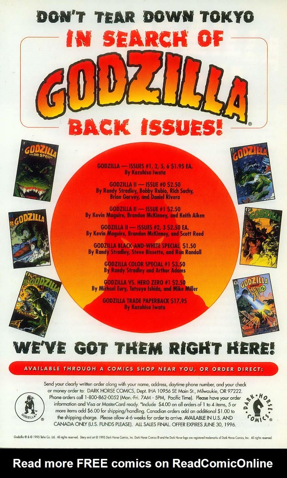 Godzilla (1995) Issue #11 #12 - English 30