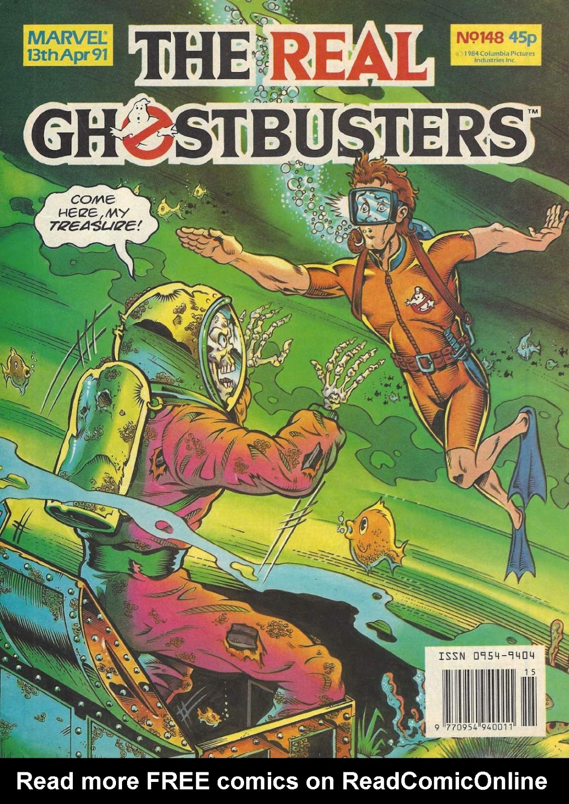 The Real Ghostbusters 148 Page 1