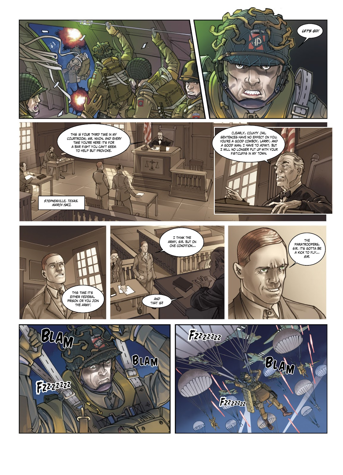 Read online Opération Overlord comic -  Issue #1 - 12