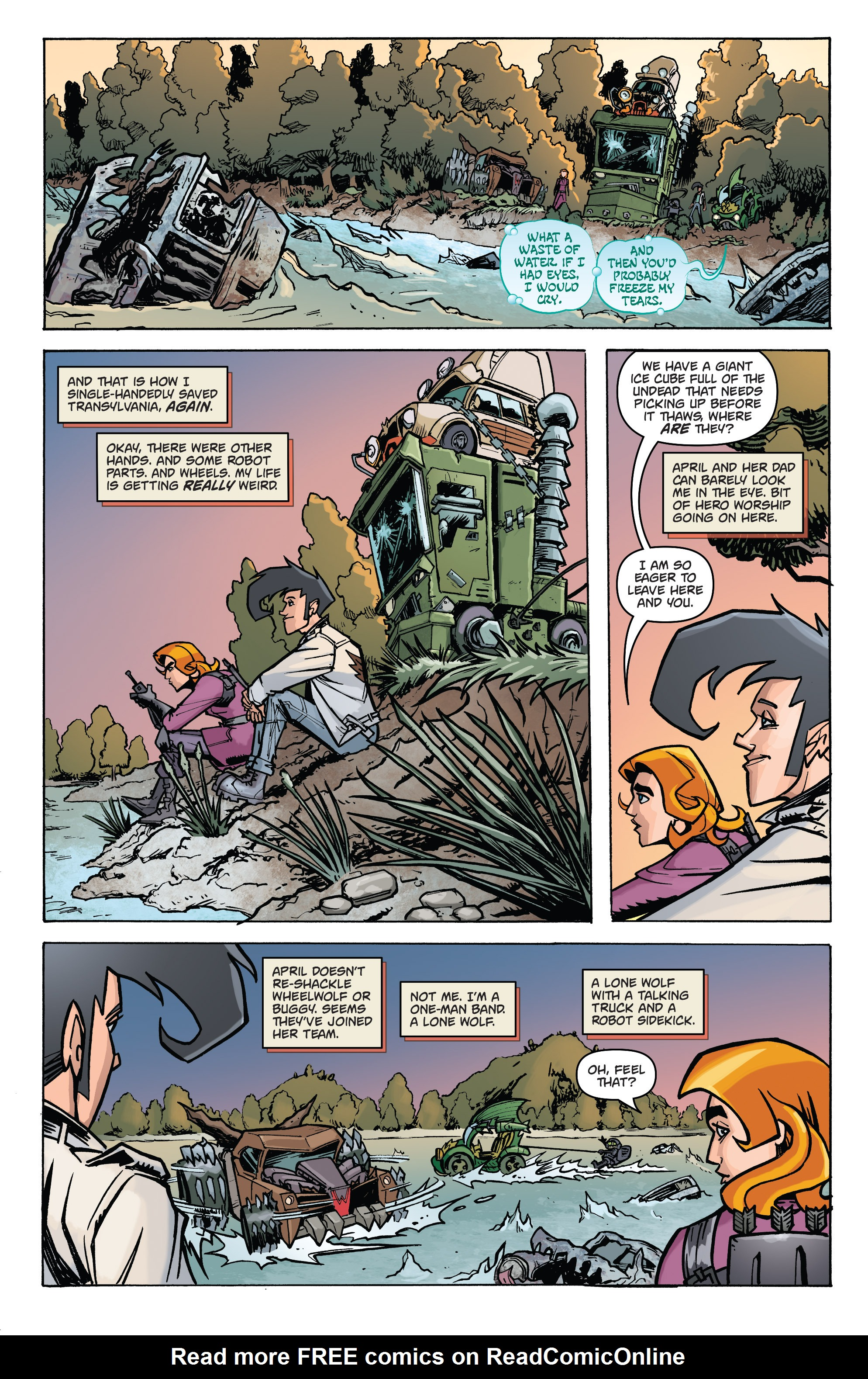 Read online Monster Motors: The Curse of Minivan Helsing comic -  Issue #2 - 21