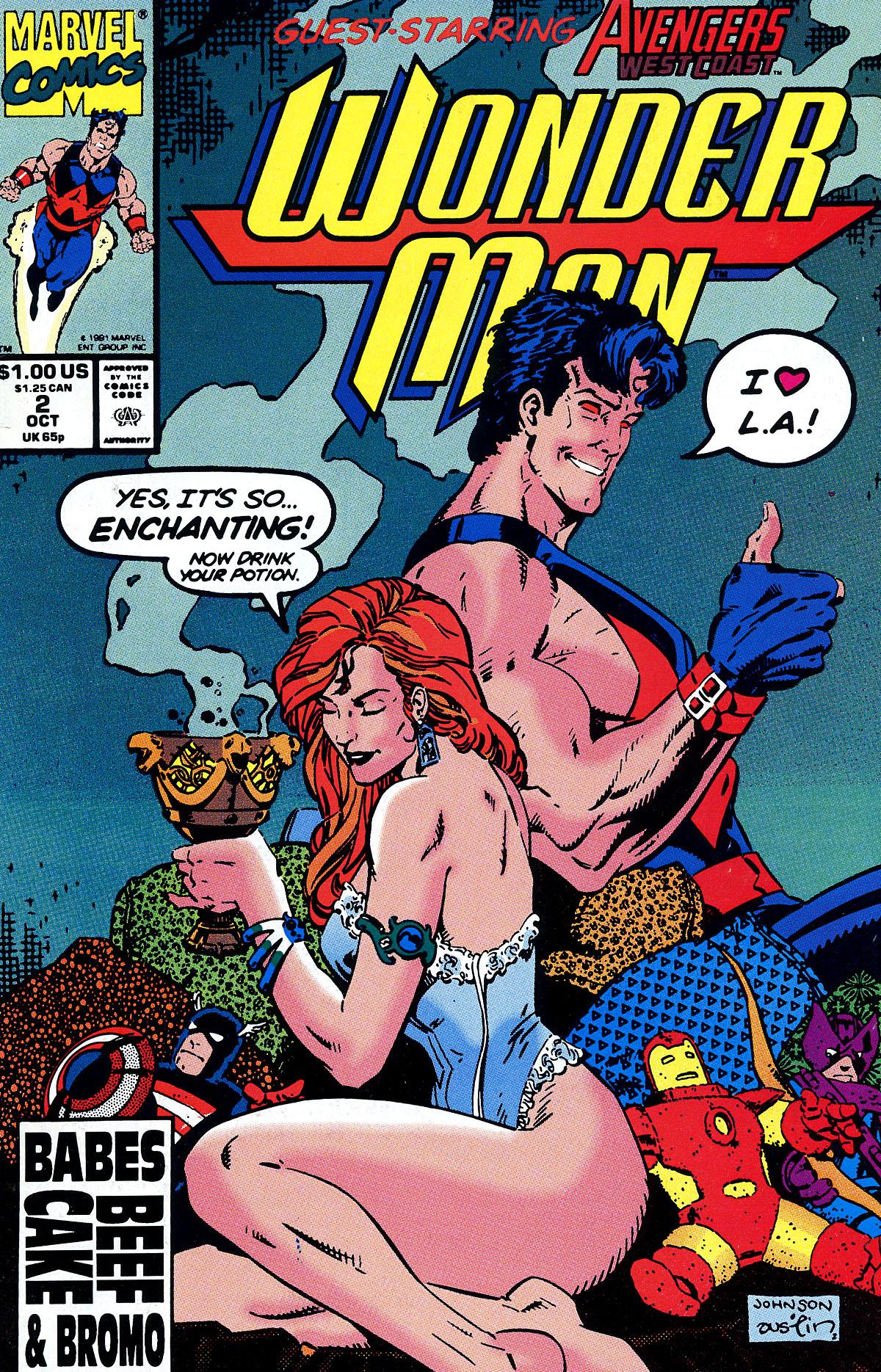 Read online Wonder Man (1991) comic -  Issue #2 - 1