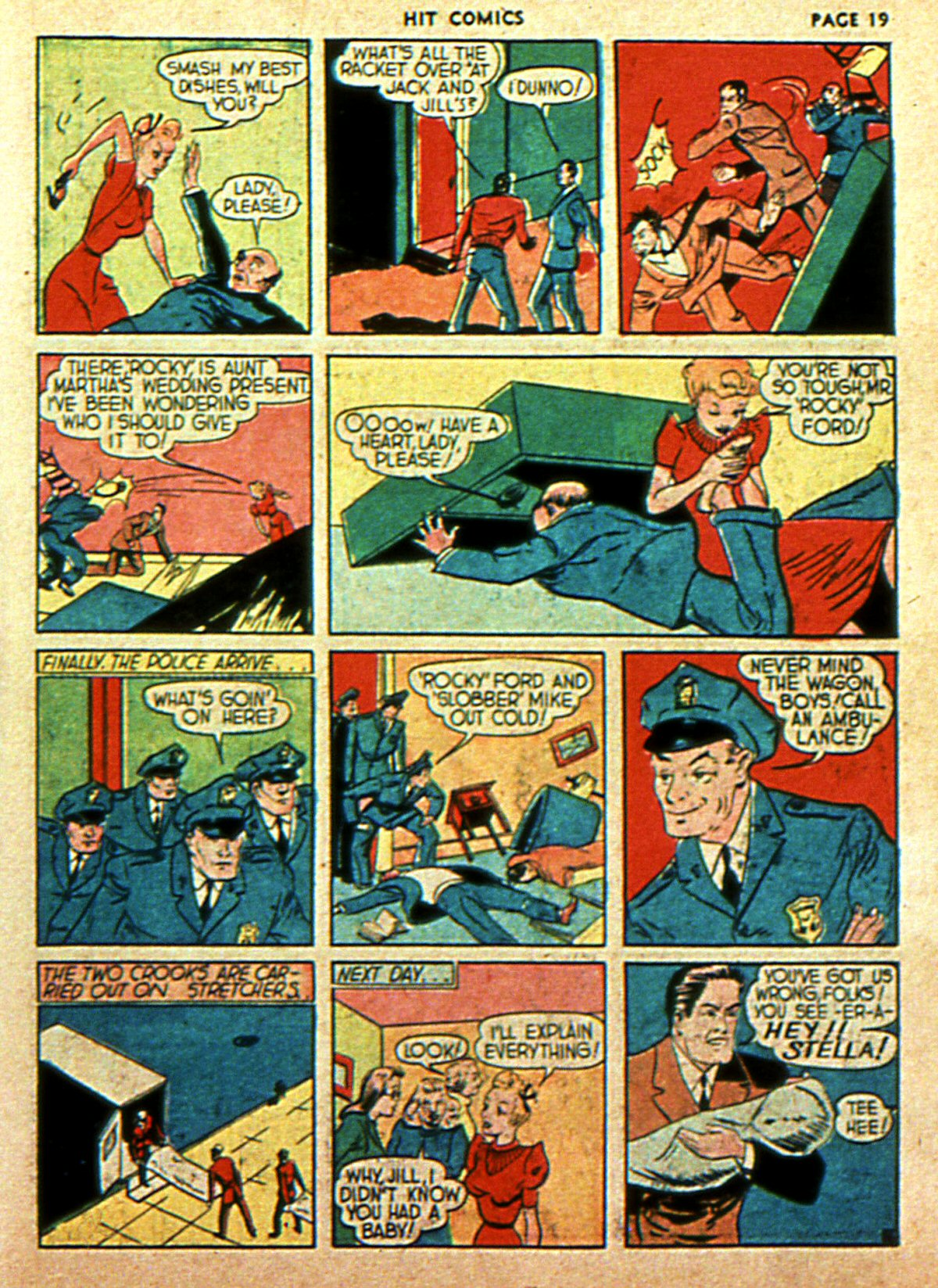 Read online Hit Comics comic -  Issue #2 - 21
