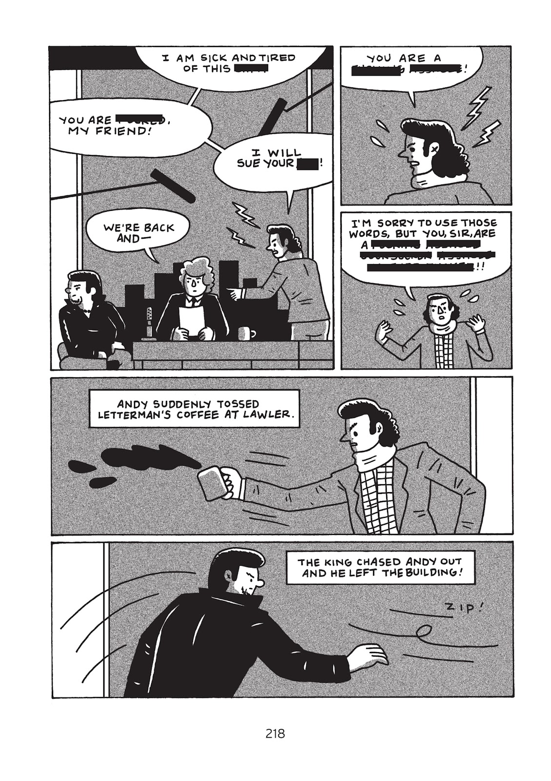 Read online Is This Guy For Real?: The Unbelievable Andy Kaufman comic -  Issue # TPB (Part 3) - 23