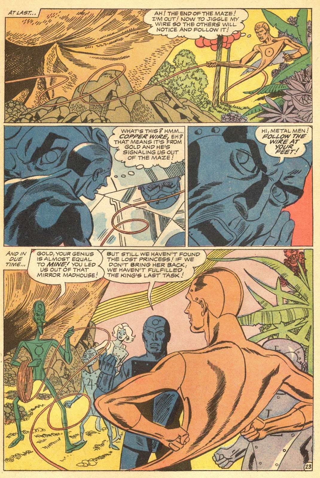 Metal Men (1963) issue 30 - Page 27