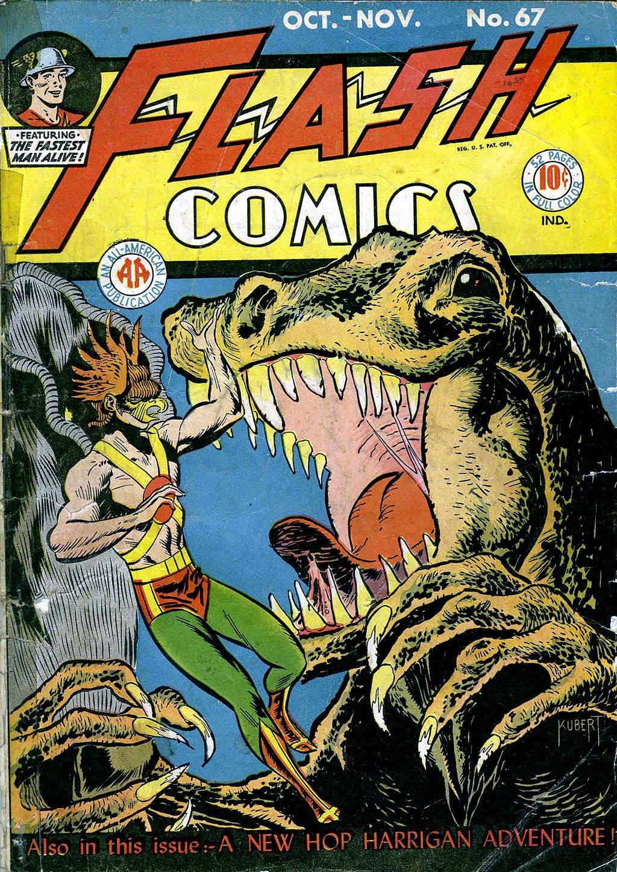 Flash Comics 67 Page 1