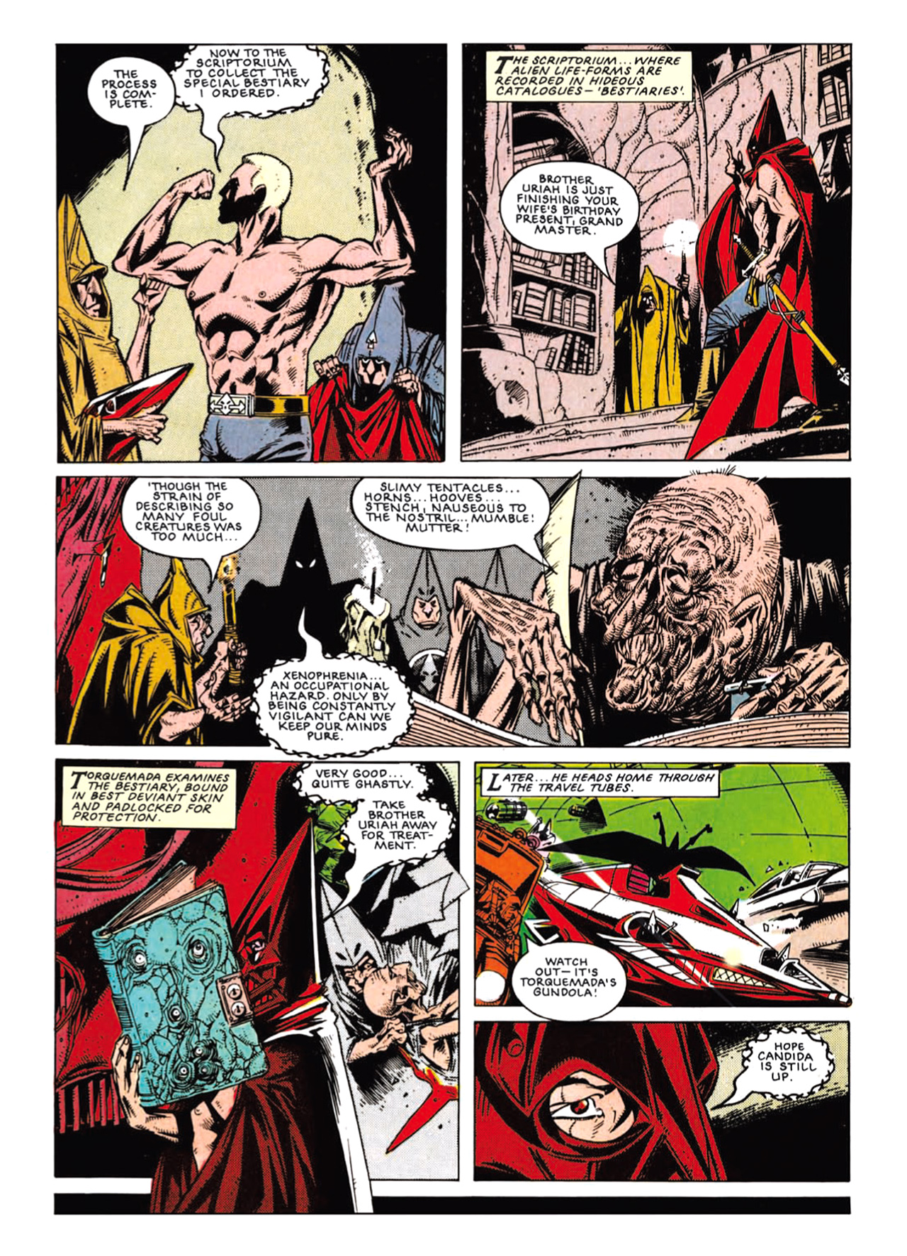 Read online Nemesis The Warlock comic -  Issue # TPB Deviant Edition - 97