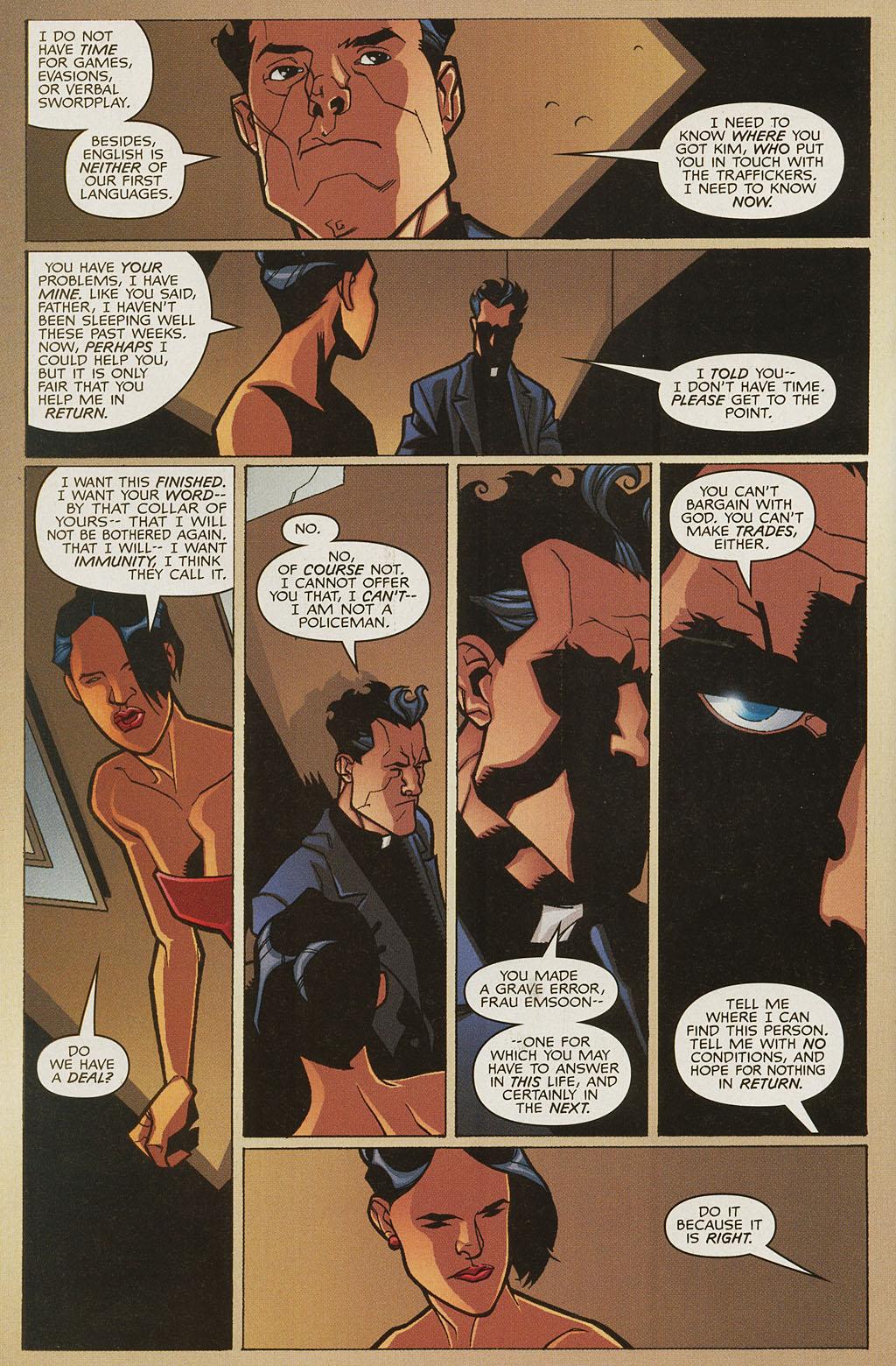Read online Nightcrawler (2002) comic -  Issue #4 - 13