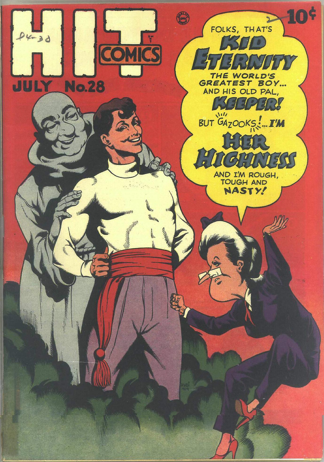 Read online Hit Comics comic -  Issue #28 - 1