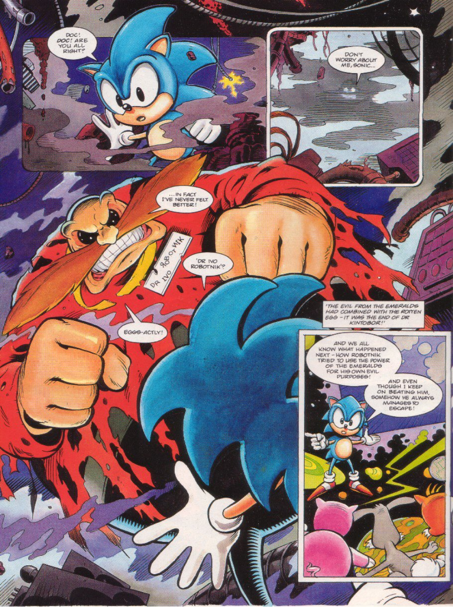 Read online Sonic the Comic comic -  Issue #8 - 8