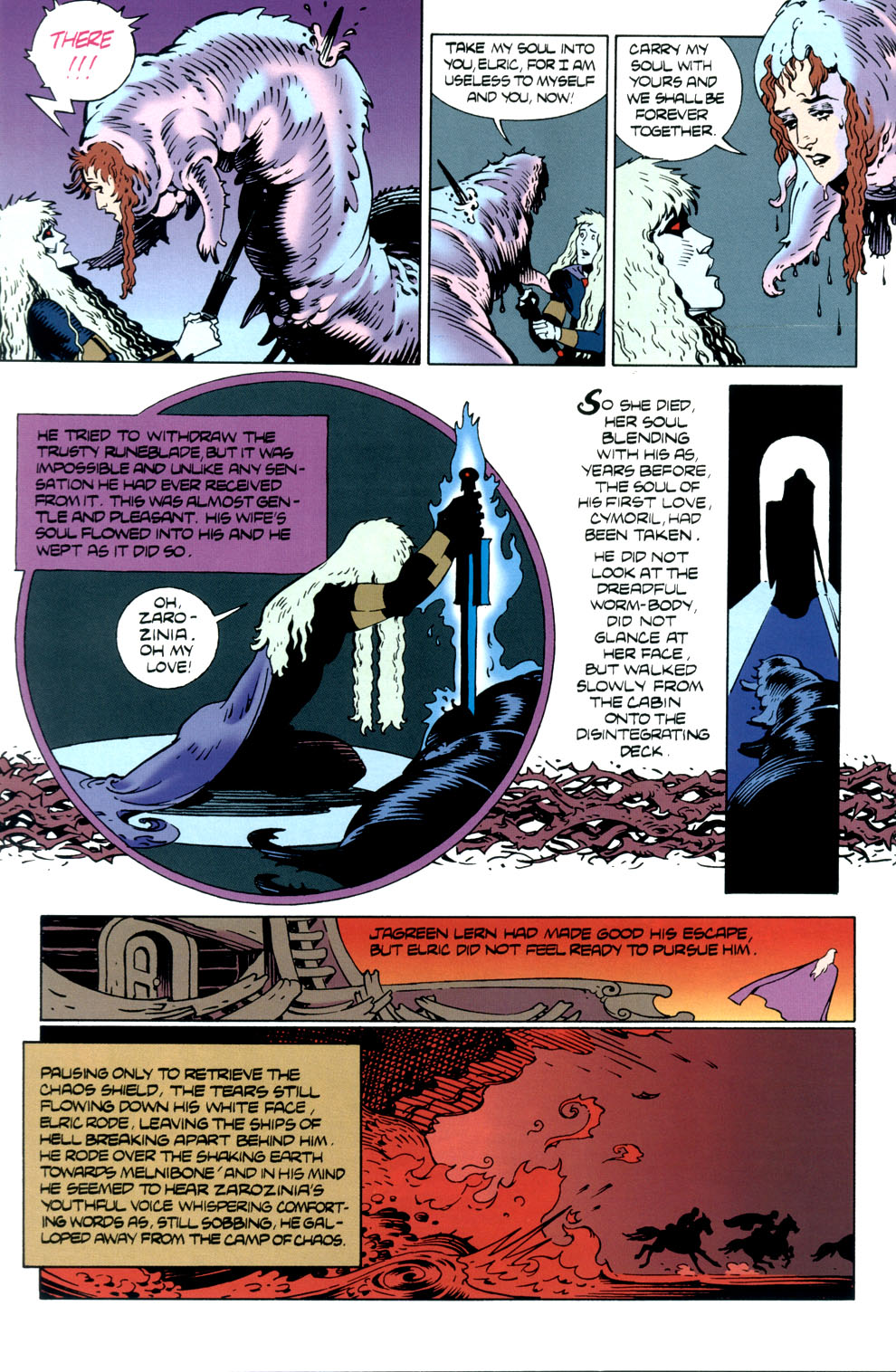 Read online Elric: Stormbringer comic -  Issue #5 - 28
