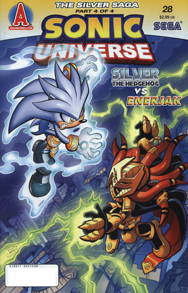 Read online Sonic Universe comic -  Issue #28 - 1