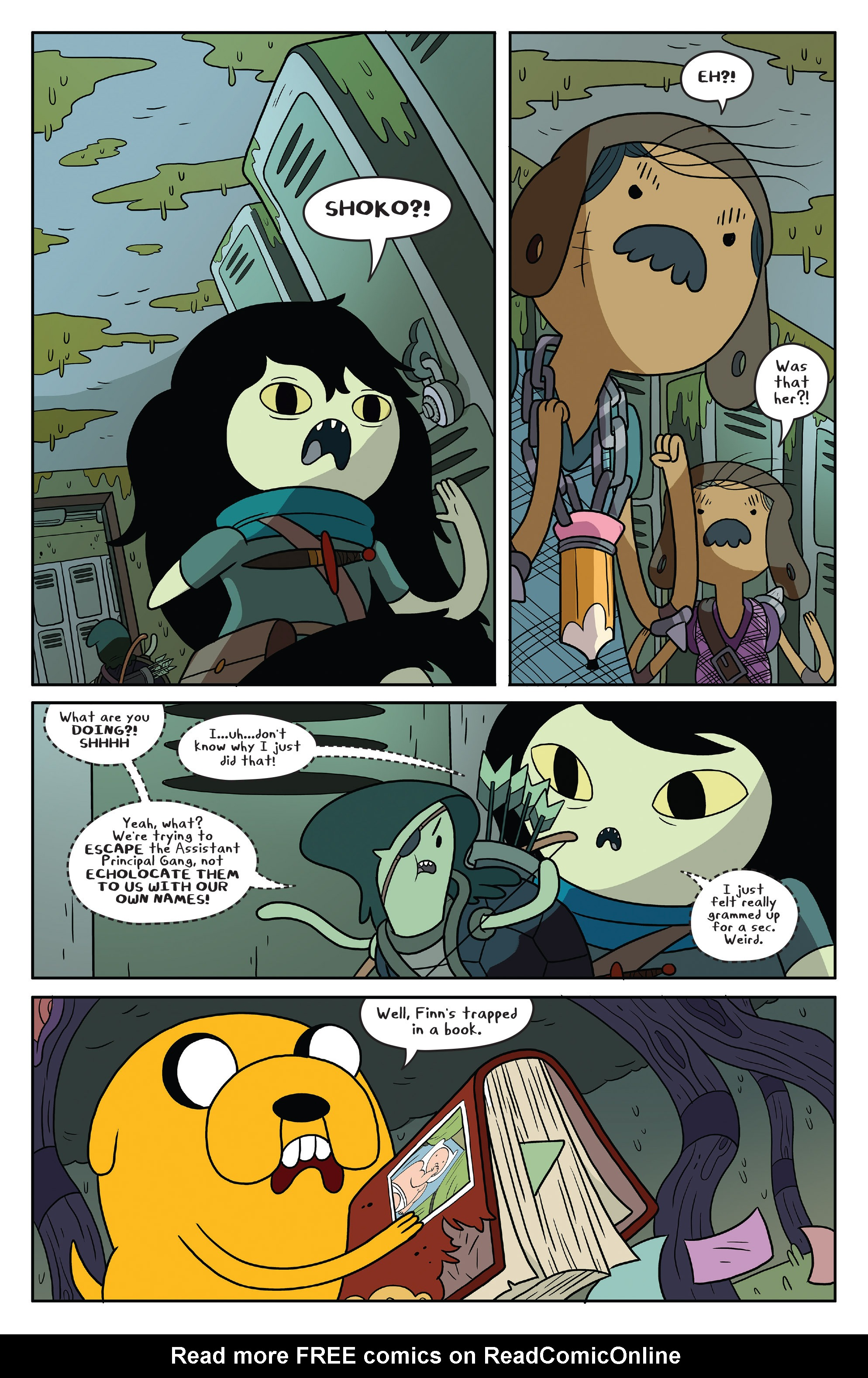 Read online Adventure Time comic -  Issue #50 - 14