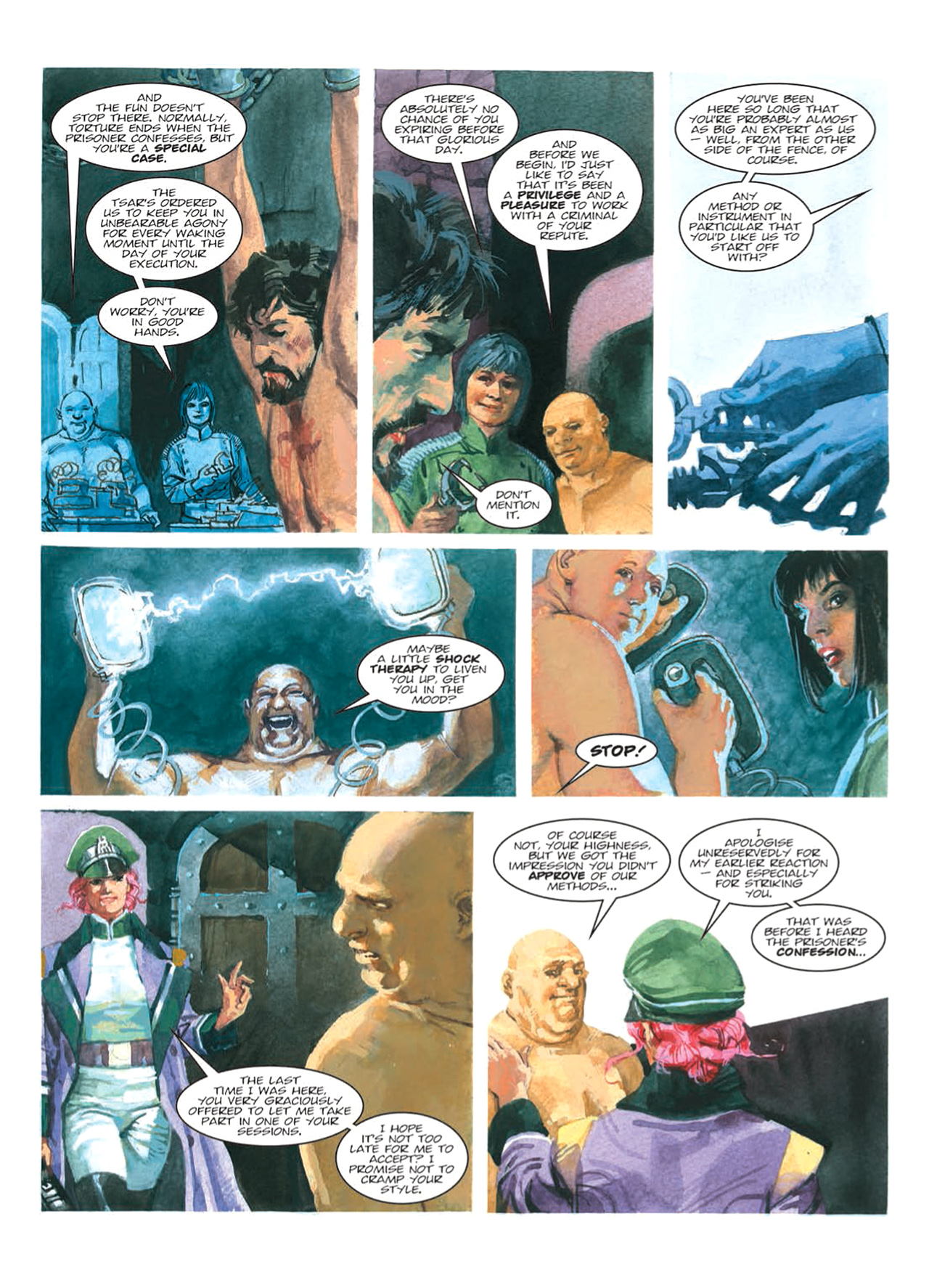 Read online Nikolai Dante comic -  Issue # TPB 9 - 93