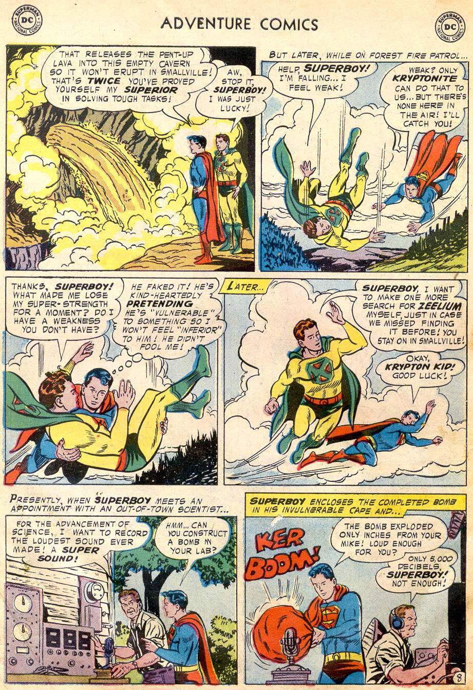 Read online Adventure Comics (1938) comic -  Issue #242 - 10