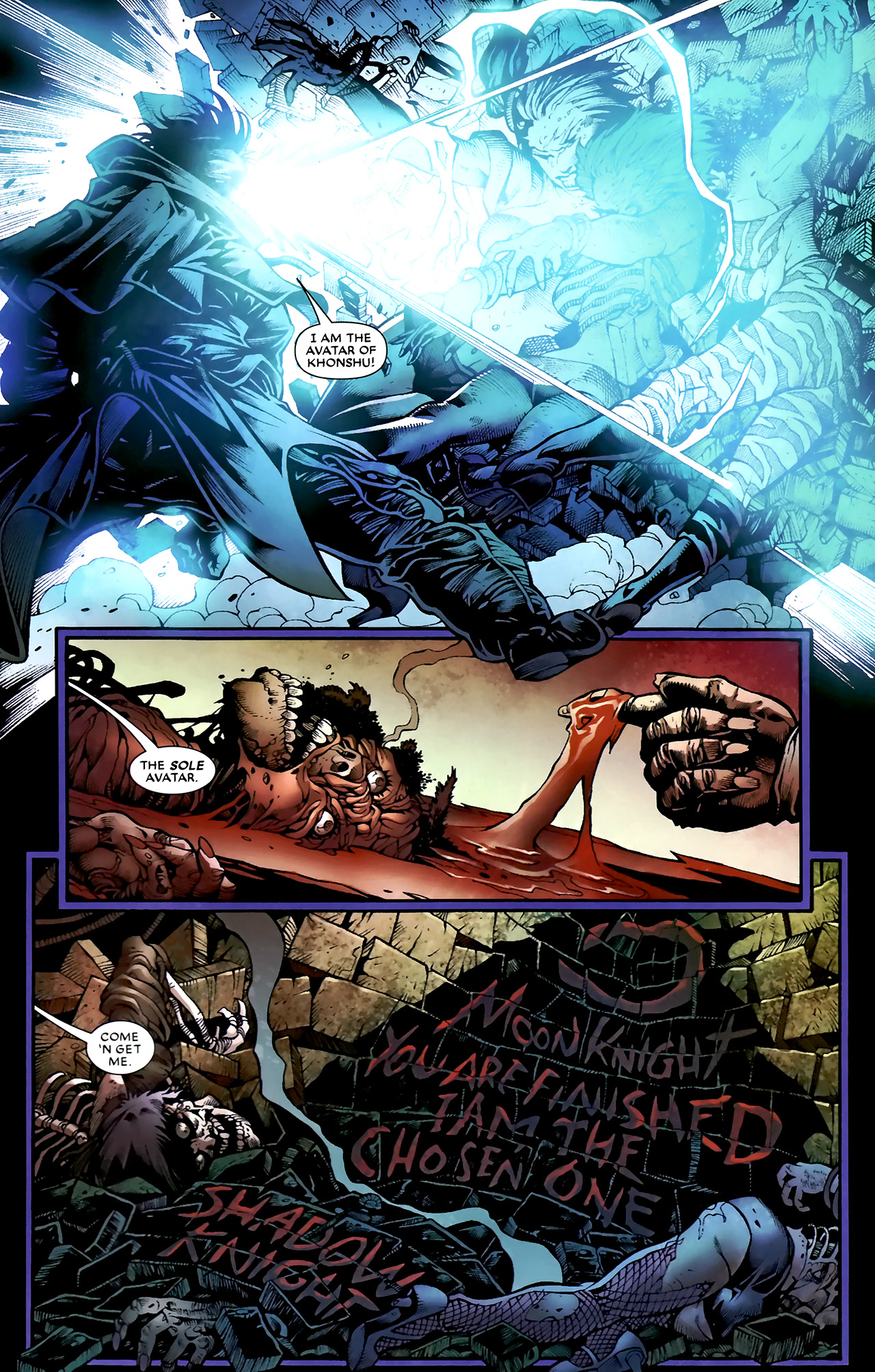 Read online Shadowland: Moon Knight comic -  Issue #1 - 27