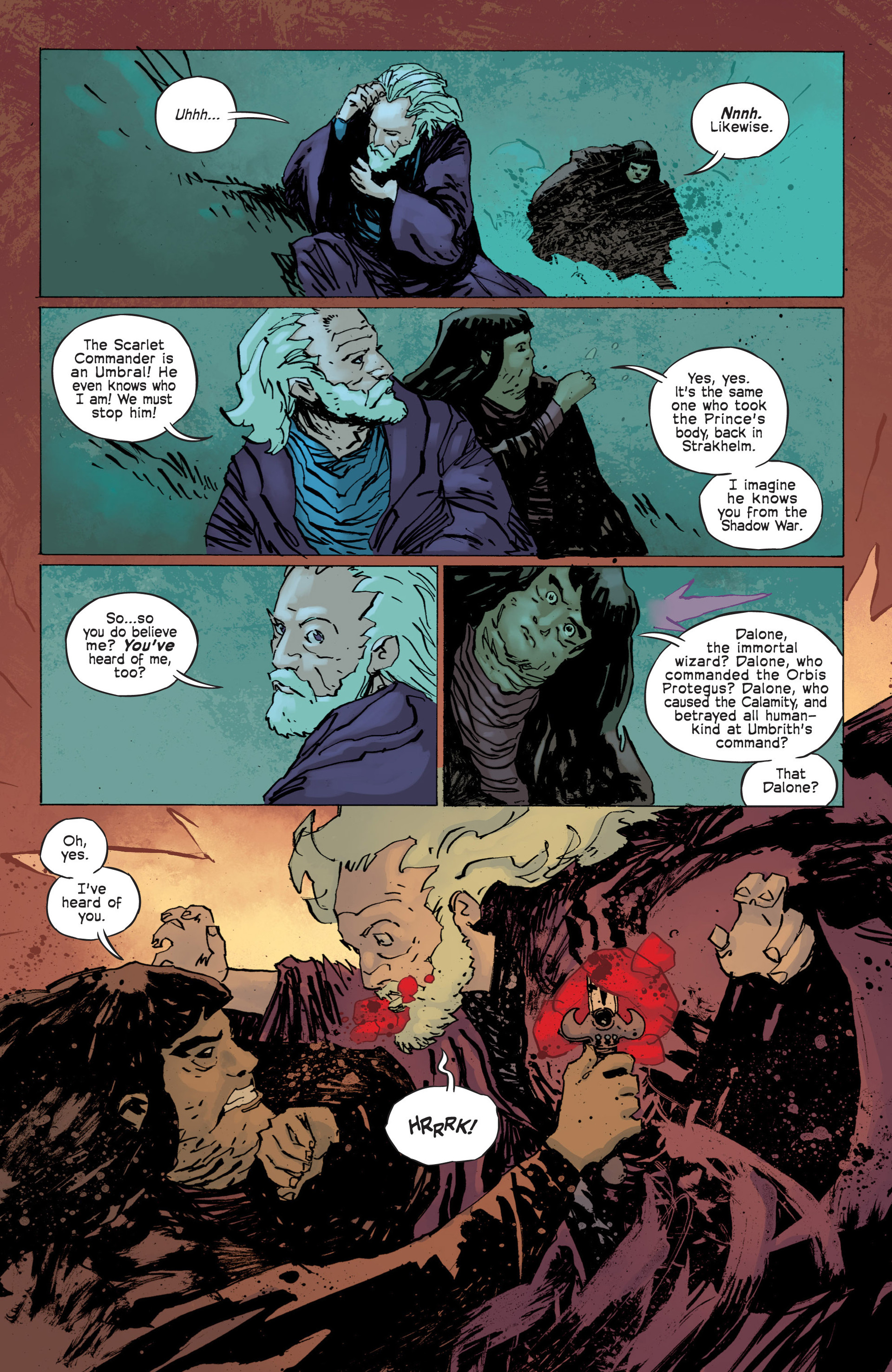 Read online Umbral comic -  Issue #12 - 17