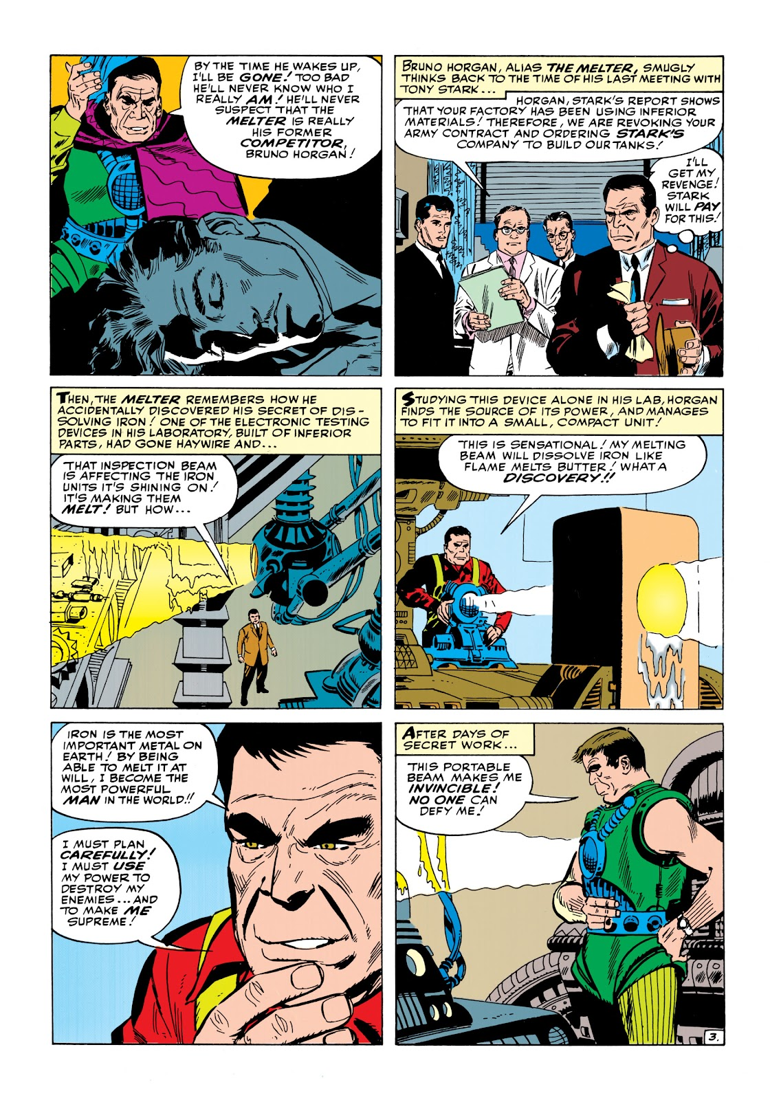 Read online Marvel Masterworks: The Invincible Iron Man comic -  Issue # TPB 1 (Part 2) - 23