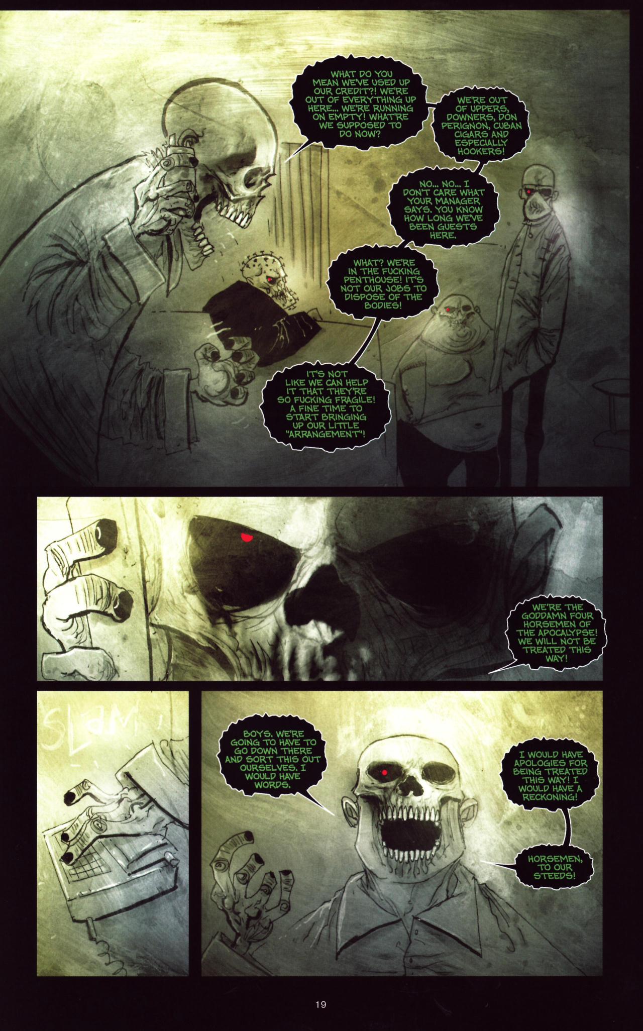 Read online Wormwood: Gentleman Corpse comic -  Issue #8 - 20