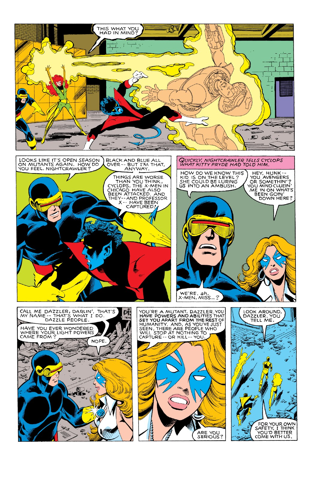 Read online X-Men Milestones: Dark Phoenix Saga comic -  Issue # TPB (Part 1) - 39