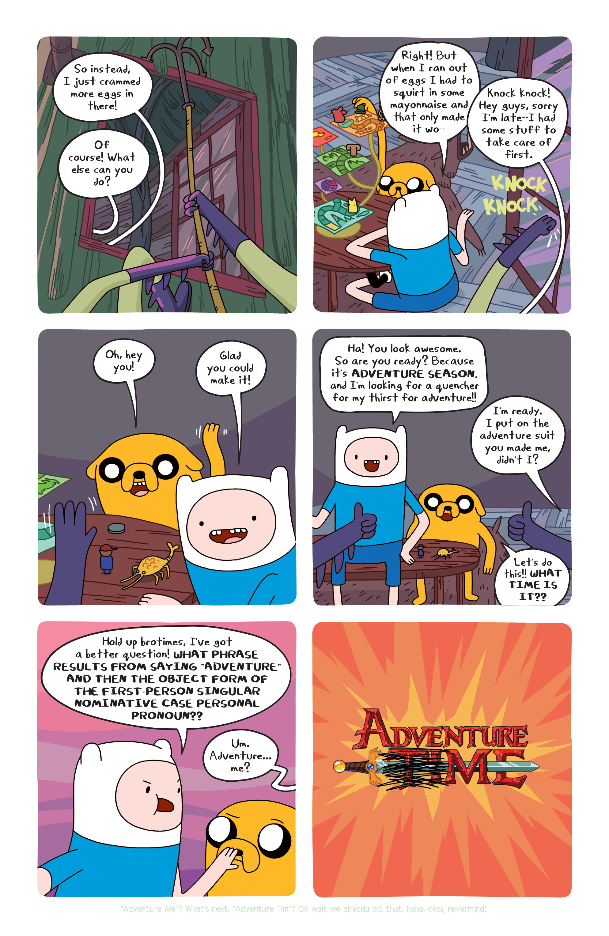 Read online Adventure Time comic -  Issue #20 - 6
