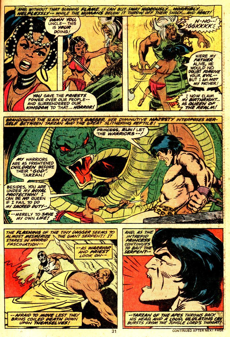 Read online Tarzan (1977) comic -  Issue # _Annual 2 - 25