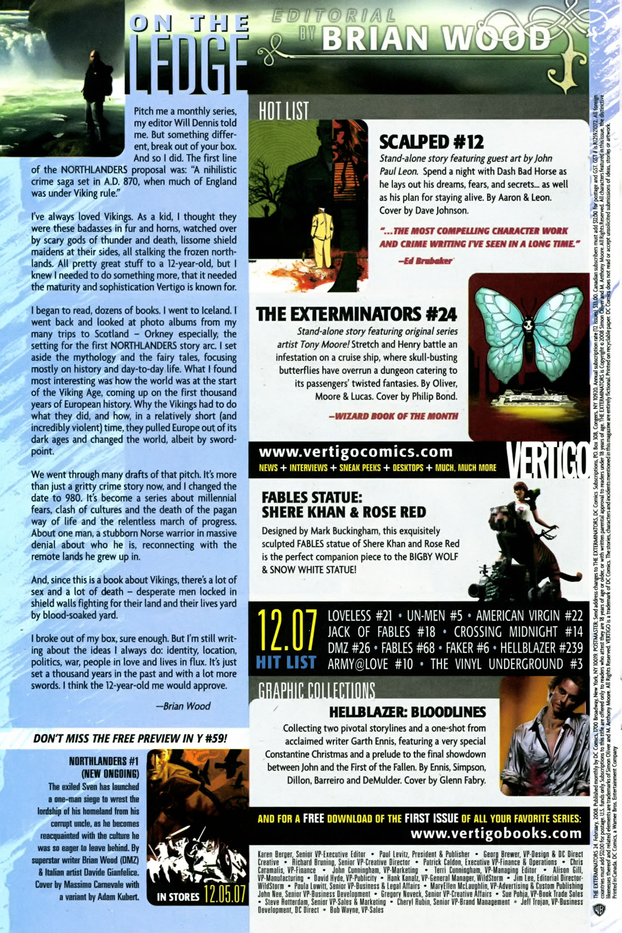 Read online The Exterminators comic -  Issue #24 - 24