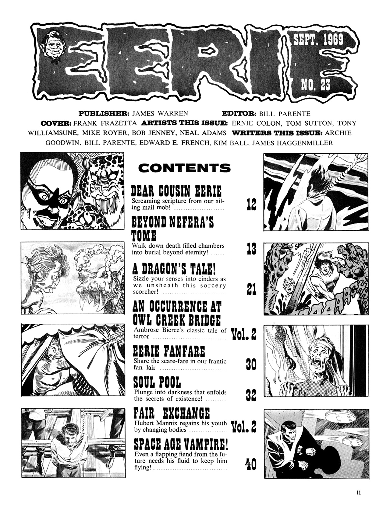 Read online Eerie Archives comic -  Issue # TPB 5 - 12