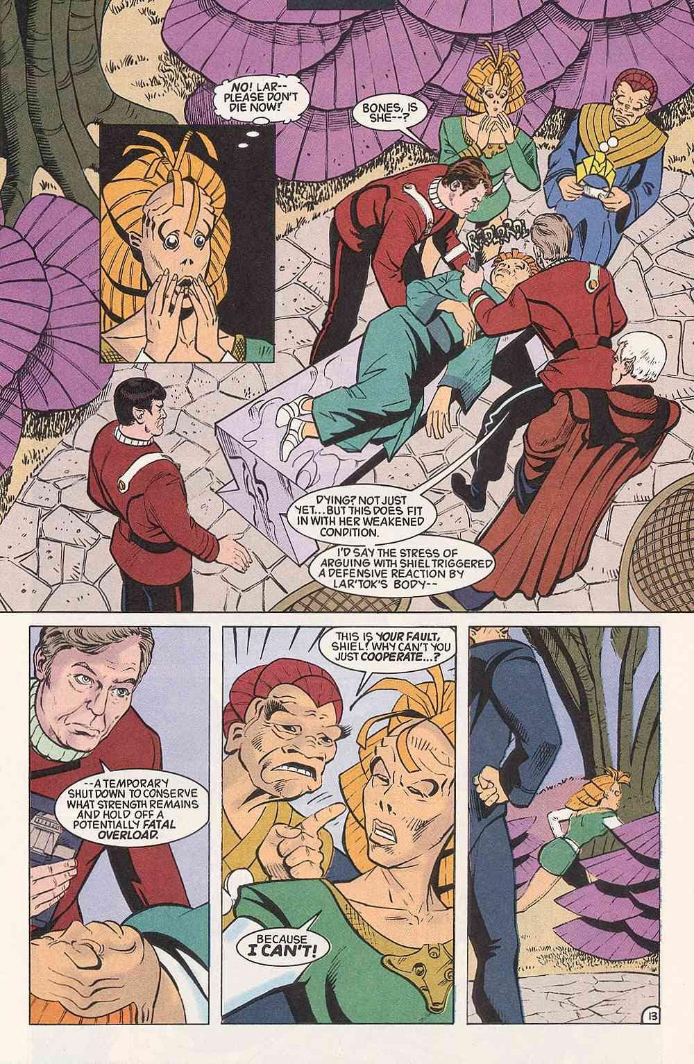 Read online Star Trek (1989) comic -  Issue # Annual 3 - 17